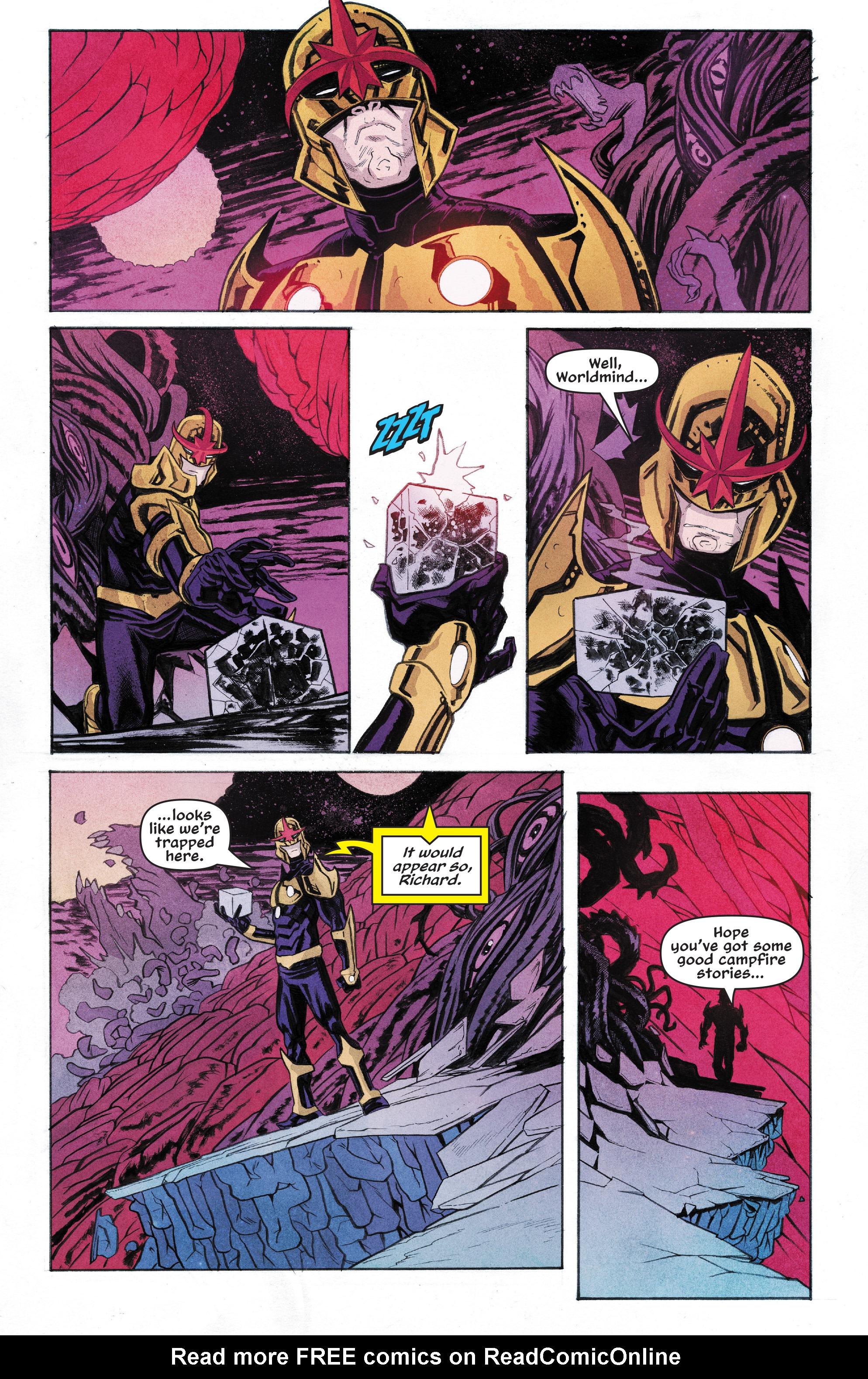 Read online Nova (2017) comic -  Issue #6 - 8
