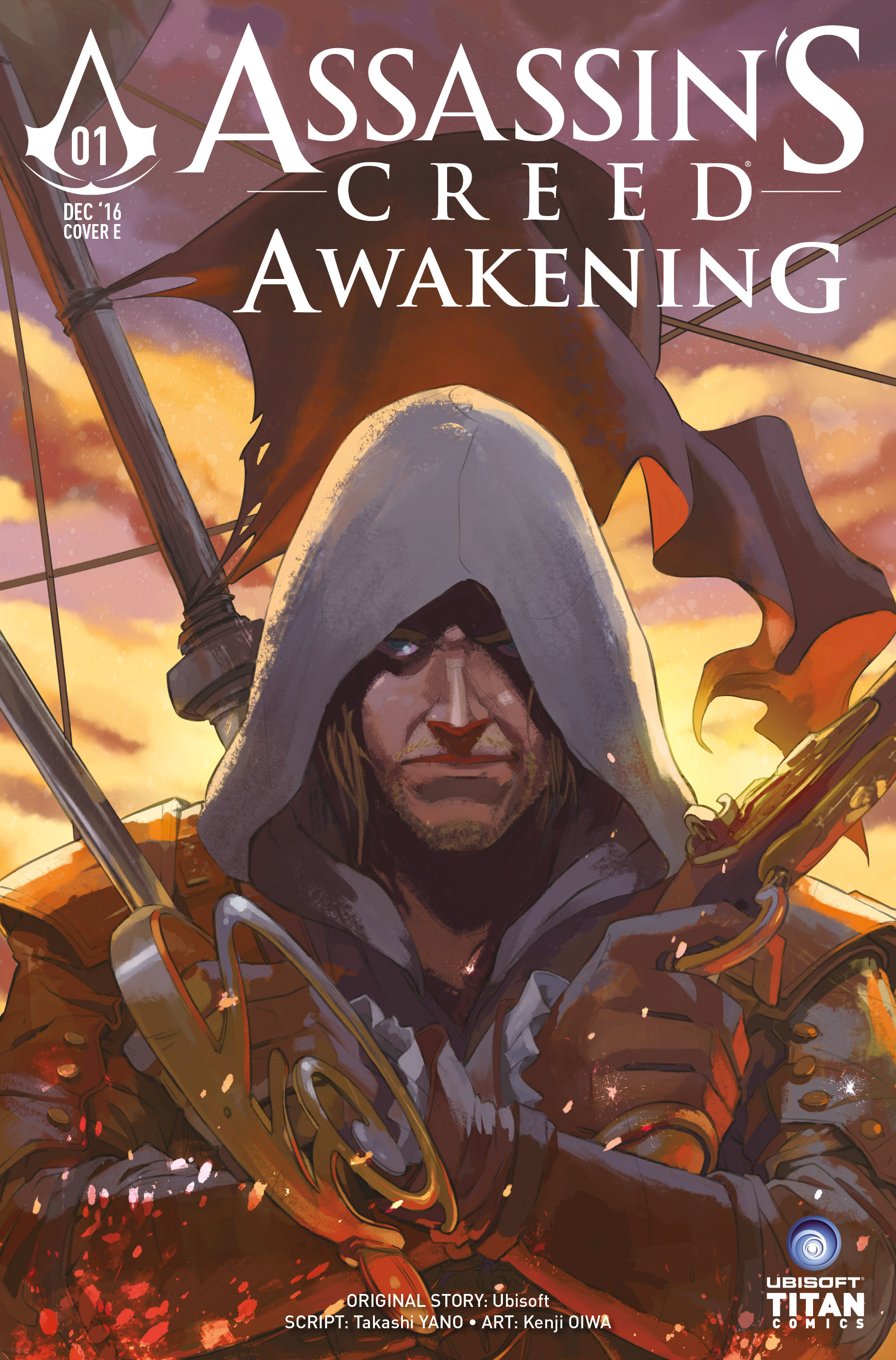 Read online Assassin's Creed: Awakening comic -  Issue #1 - 43