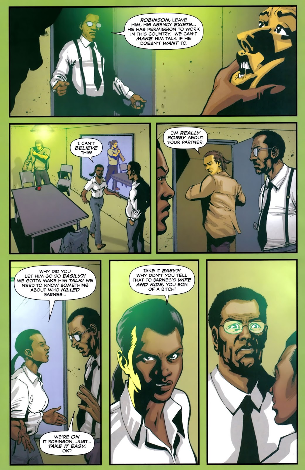 Read online Lazarus (2007) comic -  Issue #2 - 6