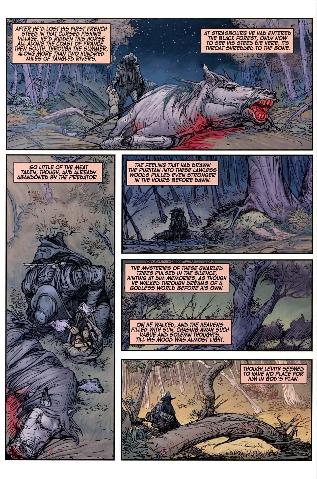 Read online Solomon Kane comic -  Issue #1 - 10