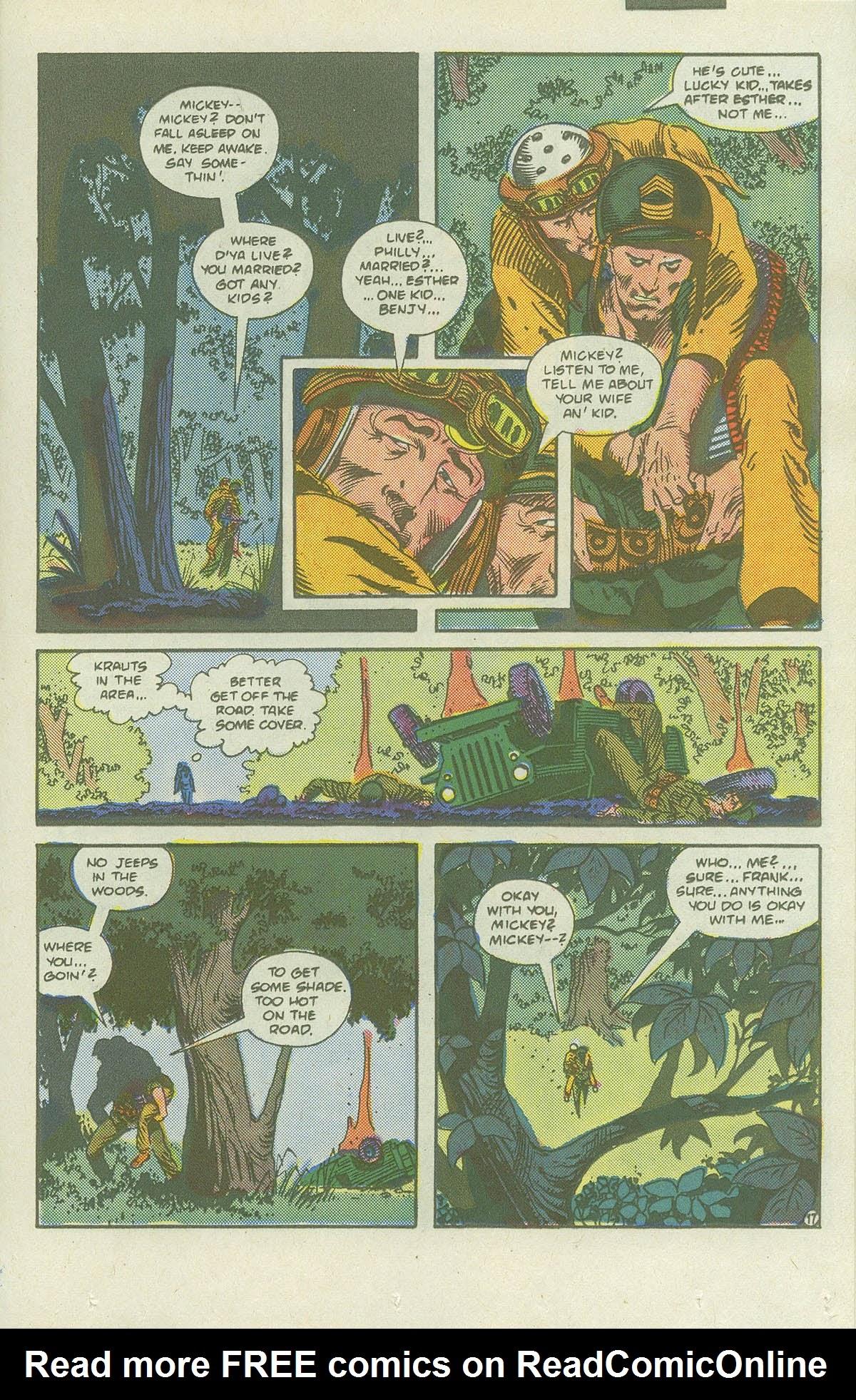 Read online Sgt. Rock comic -  Issue #419 - 23