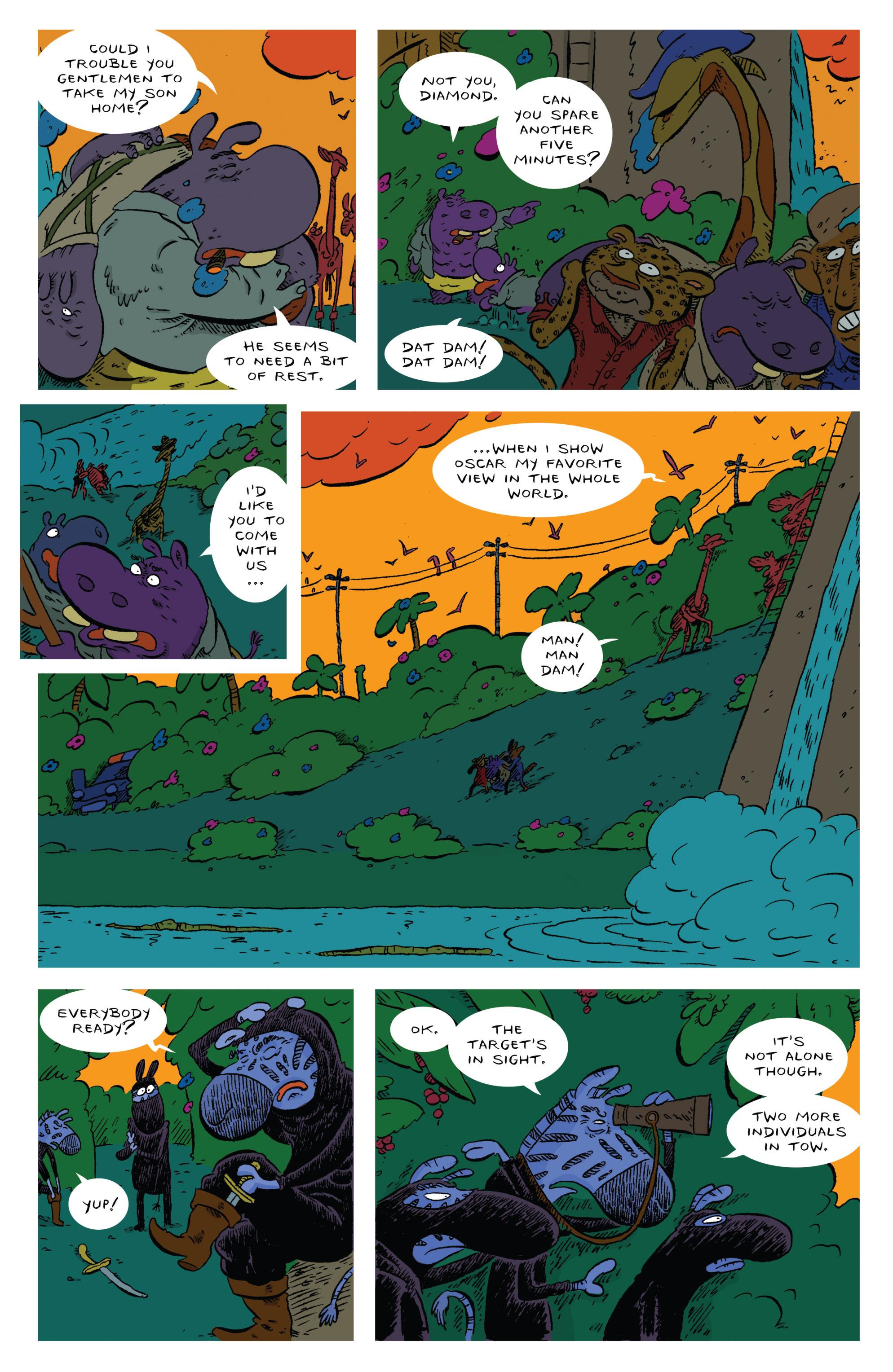 Read online Animal Noir comic -  Issue #4 - 19
