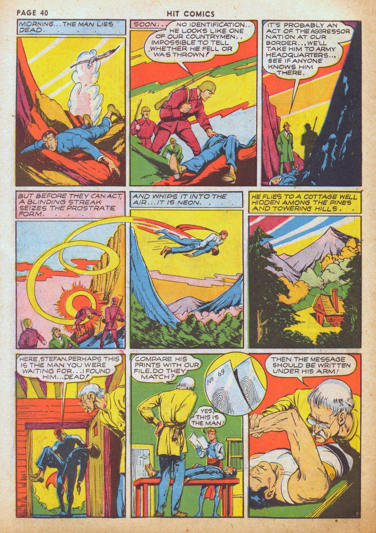 Read online Hit Comics comic -  Issue #12 - 42