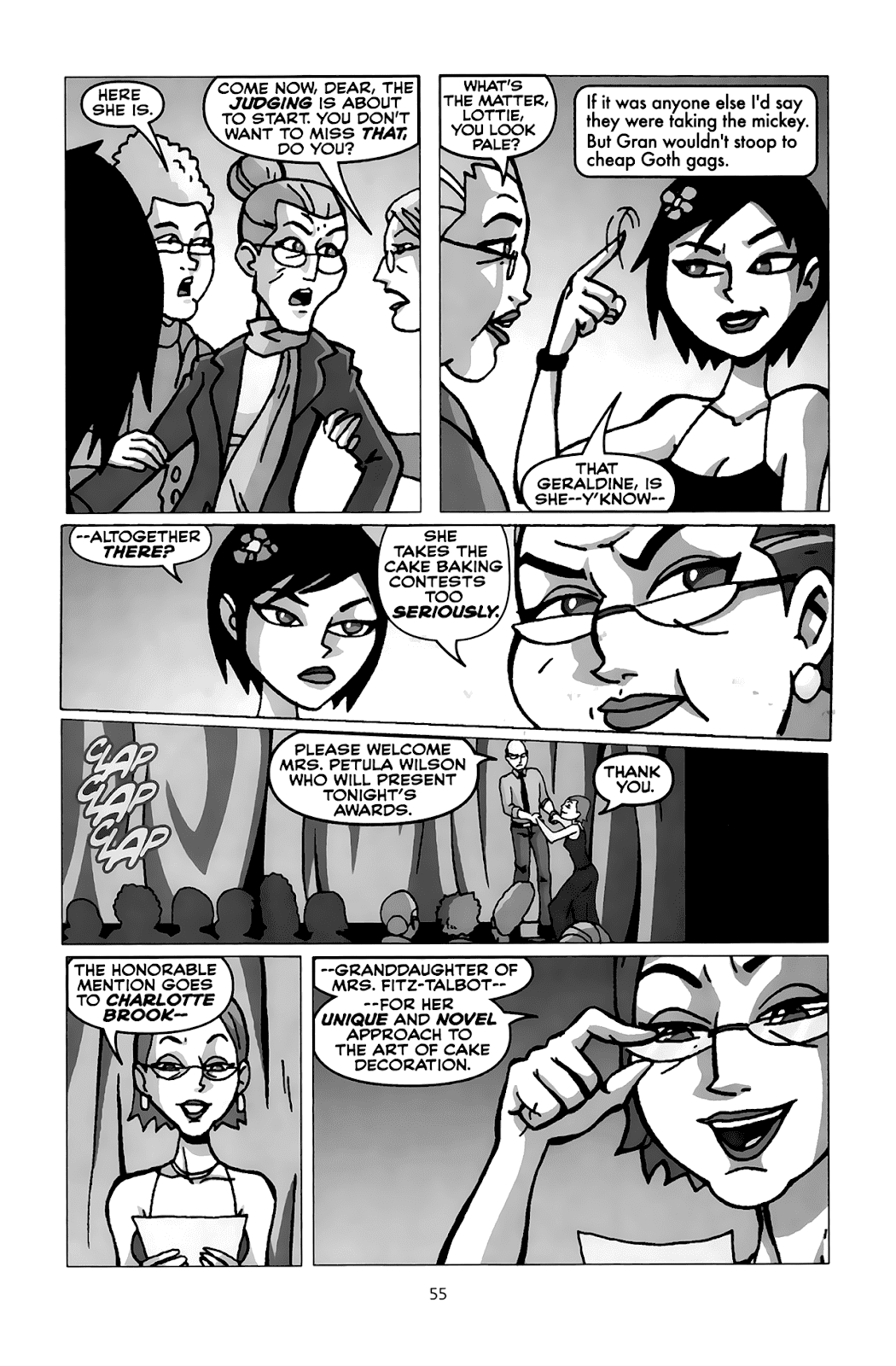 Read online Clubbing comic -  Issue # TPB - 54