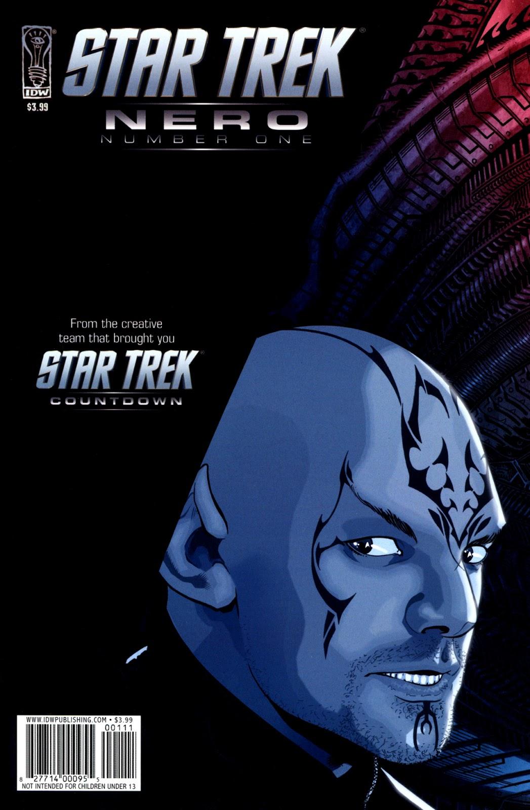 Star Trek: Nero issue 1 - Page 1