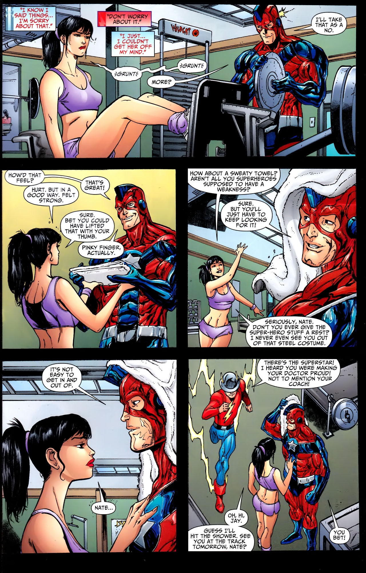 Read online JSA 80-Page Giant 2011 comic -  Issue # Full - 39