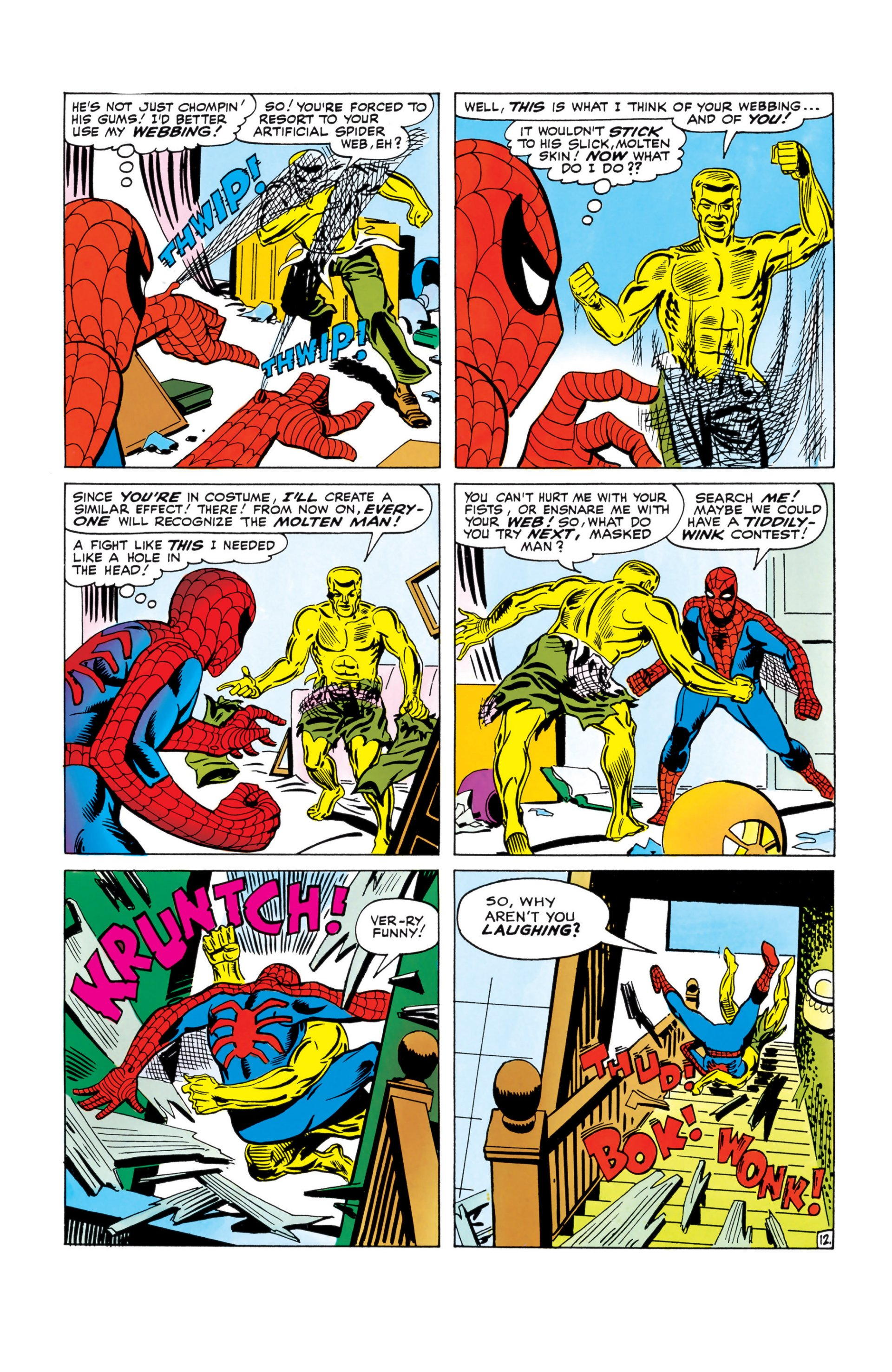 The Amazing Spider-Man (1963) 28 Page 12