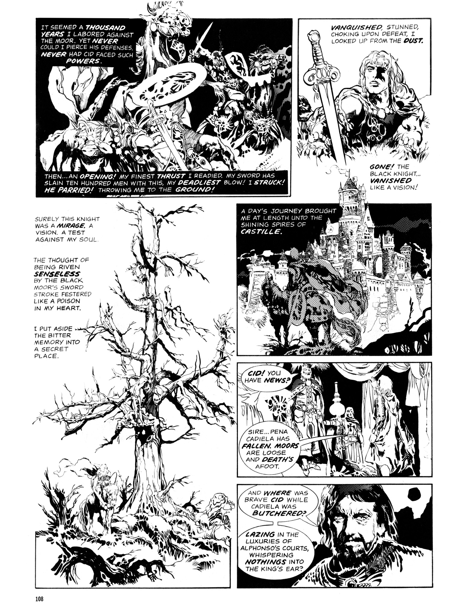 Read online Eerie Archives comic -  Issue # TPB 14 - 109