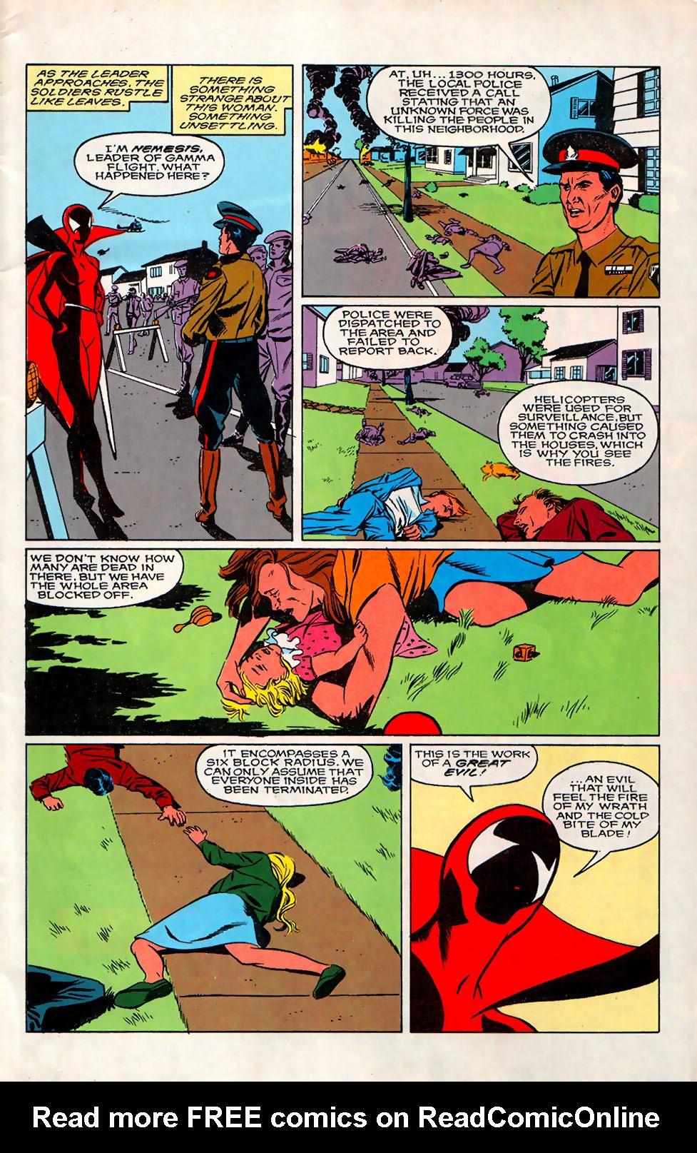 Read online Alpha Flight (1983) comic -  Issue #76 - 5