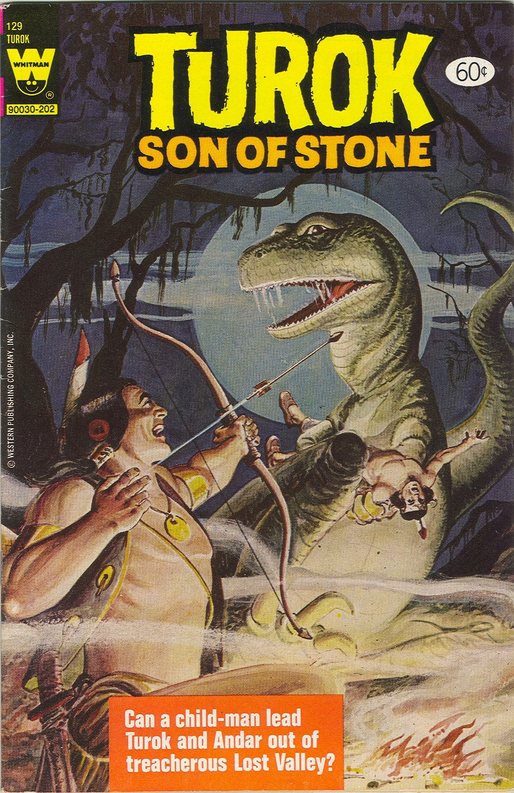 Read online Turok, Son of Stone comic -  Issue #129 - 1