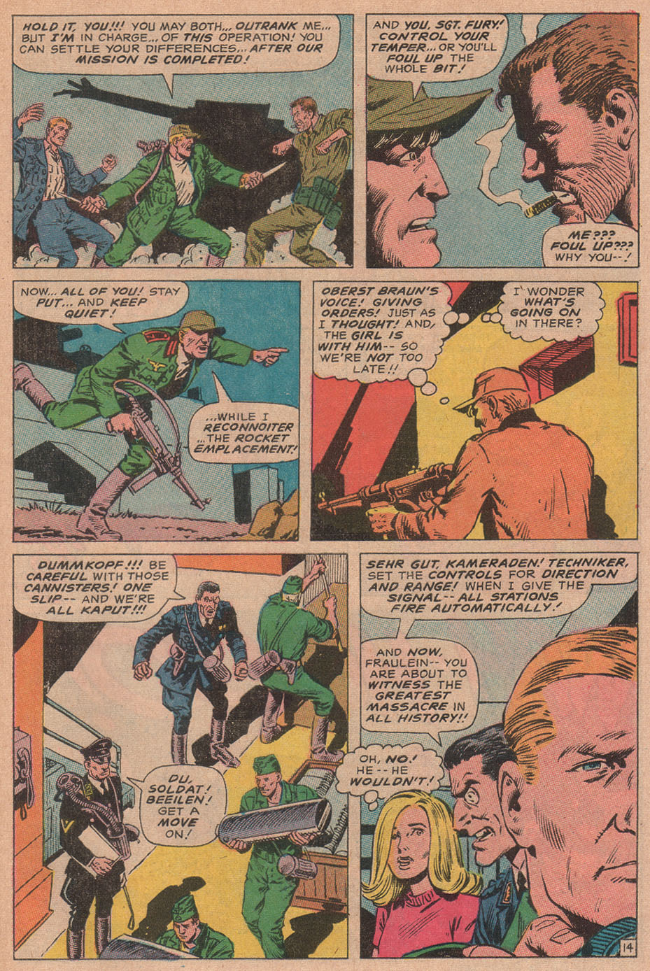 Read online Sgt. Fury comic -  Issue #78 - 23