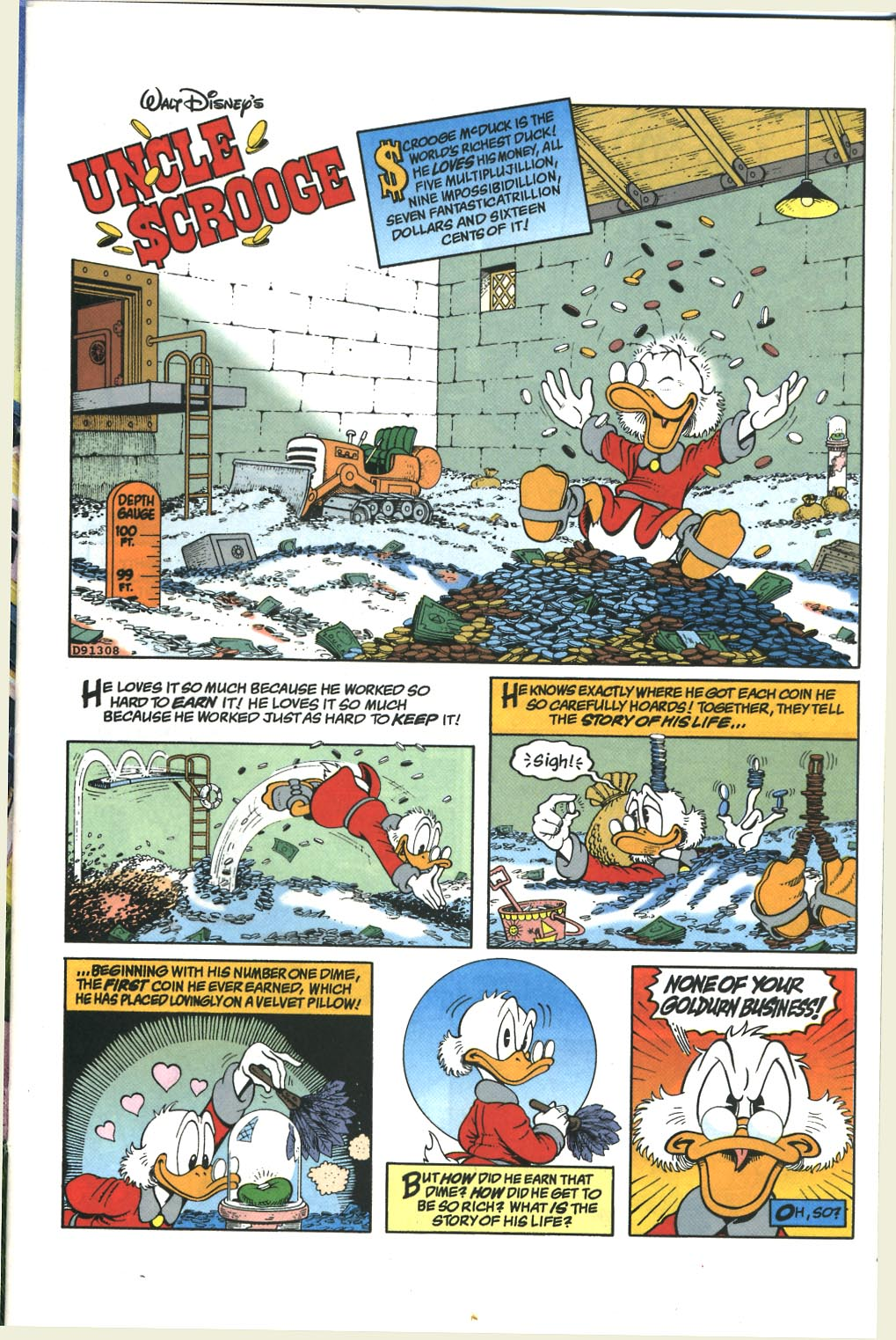 Read online Uncle Scrooge (1953) comic -  Issue #285 - 2