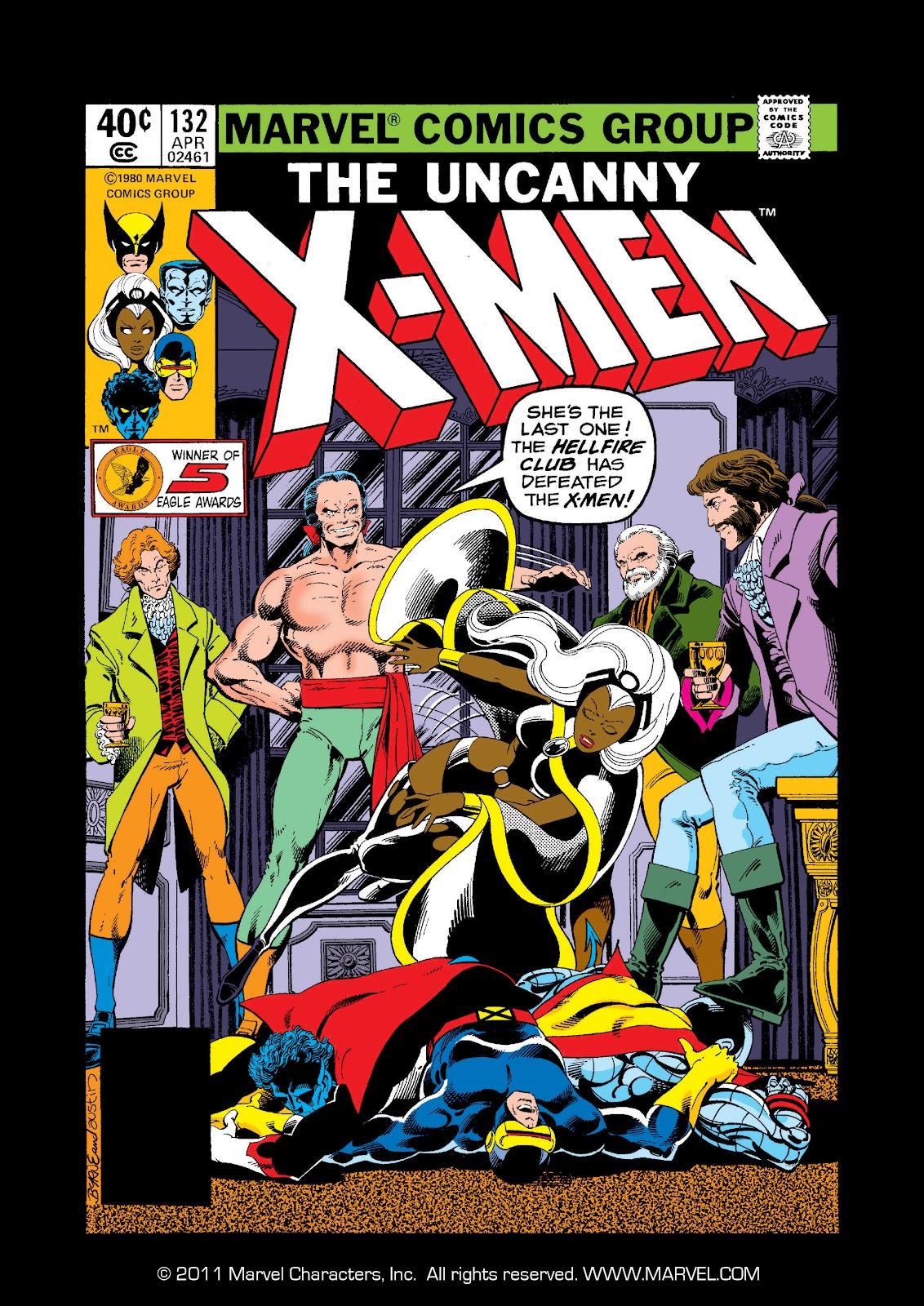 Uncanny X-Men (1963) issue 132 - Page 1