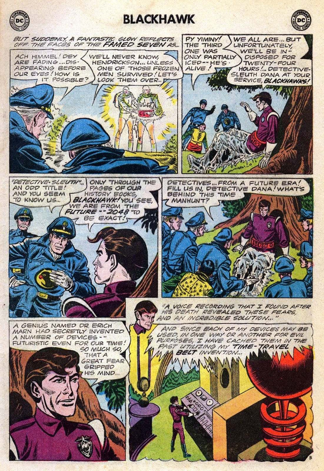 Blackhawk (1957) Issue #189 #82 - English 5