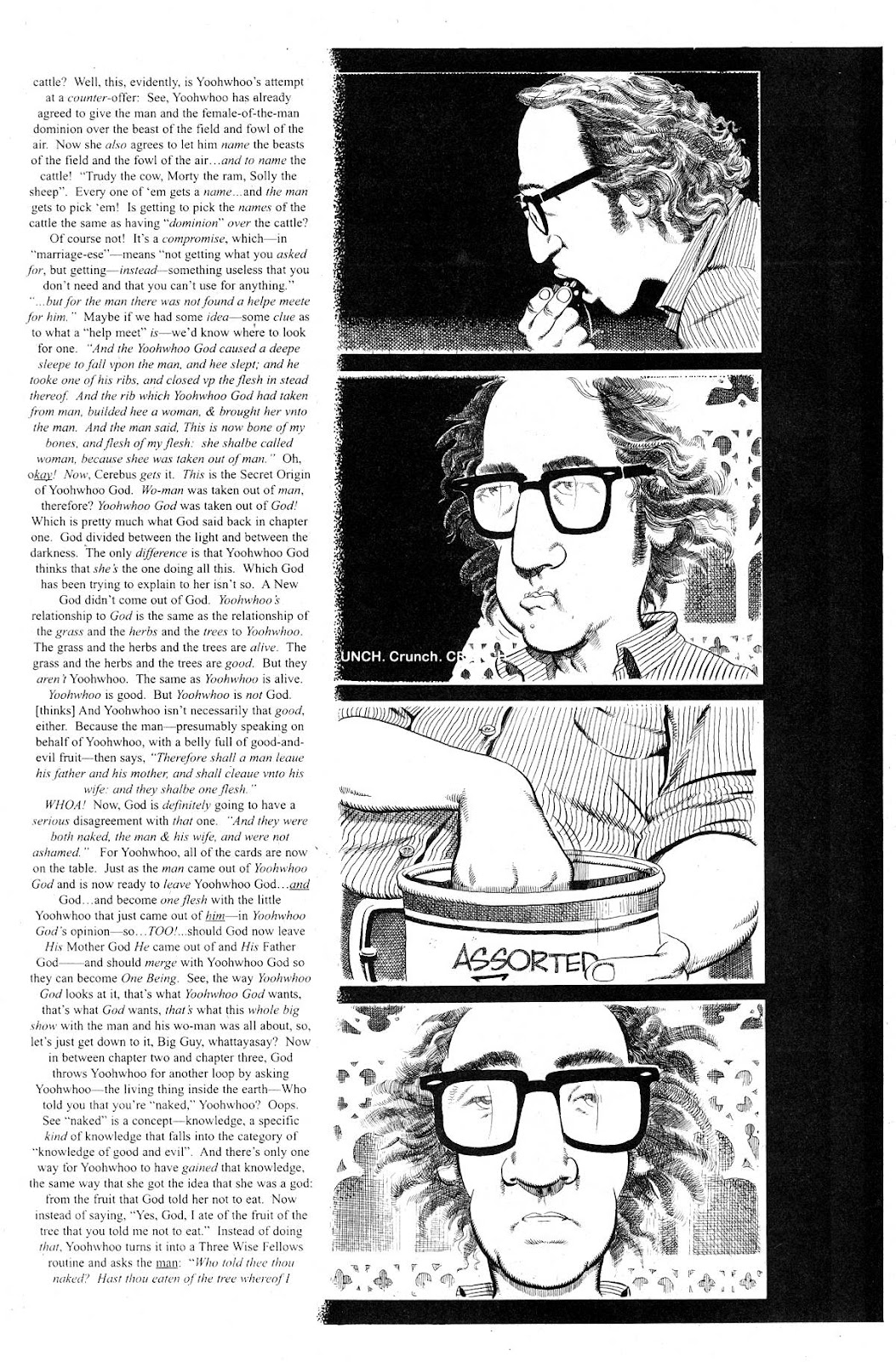 Cerebus Issue #281 #280 - English 9