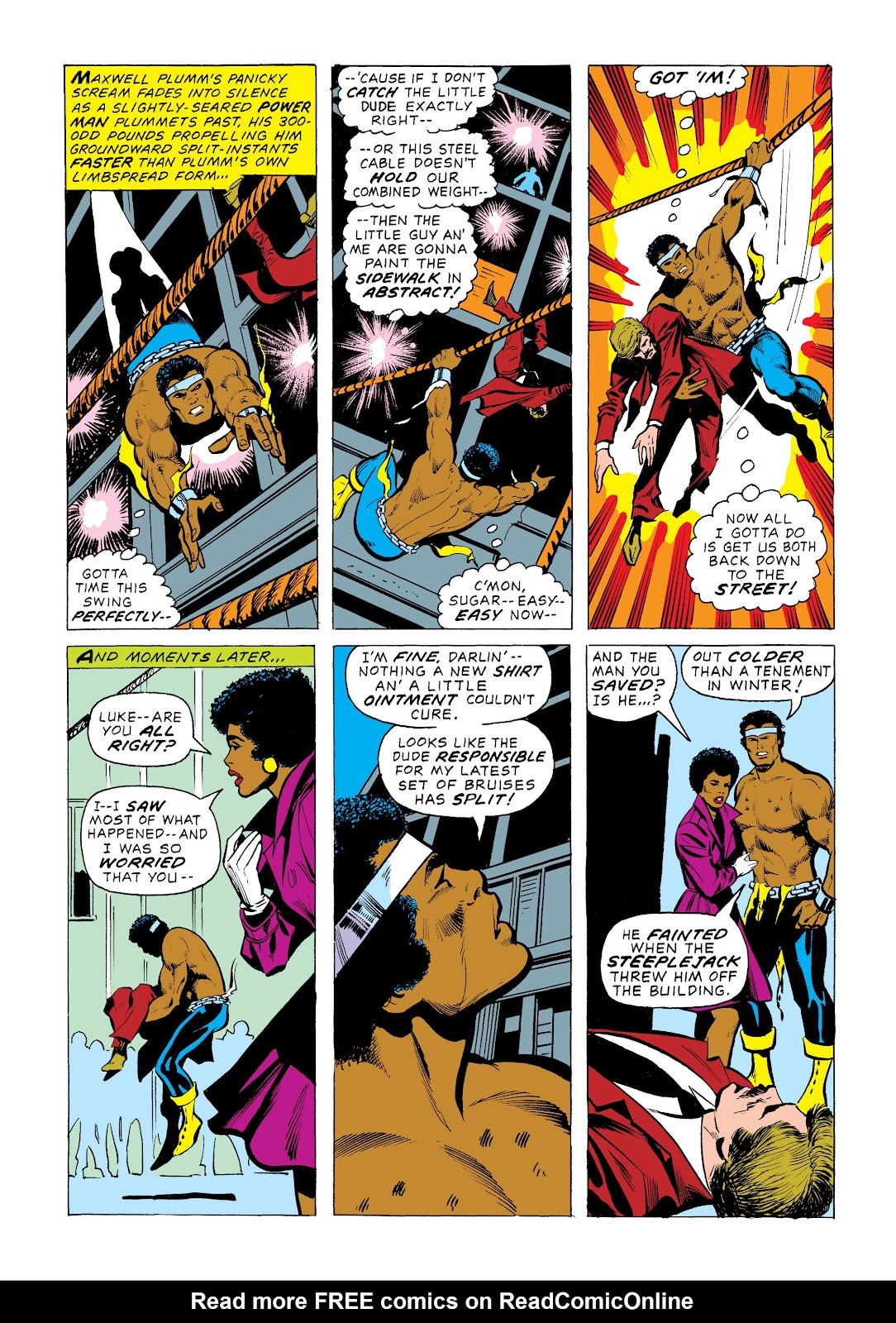 Read online Marvel Masterworks: Luke Cage, Power Man comic -  Issue # TPB 2 (Part 1) - 37