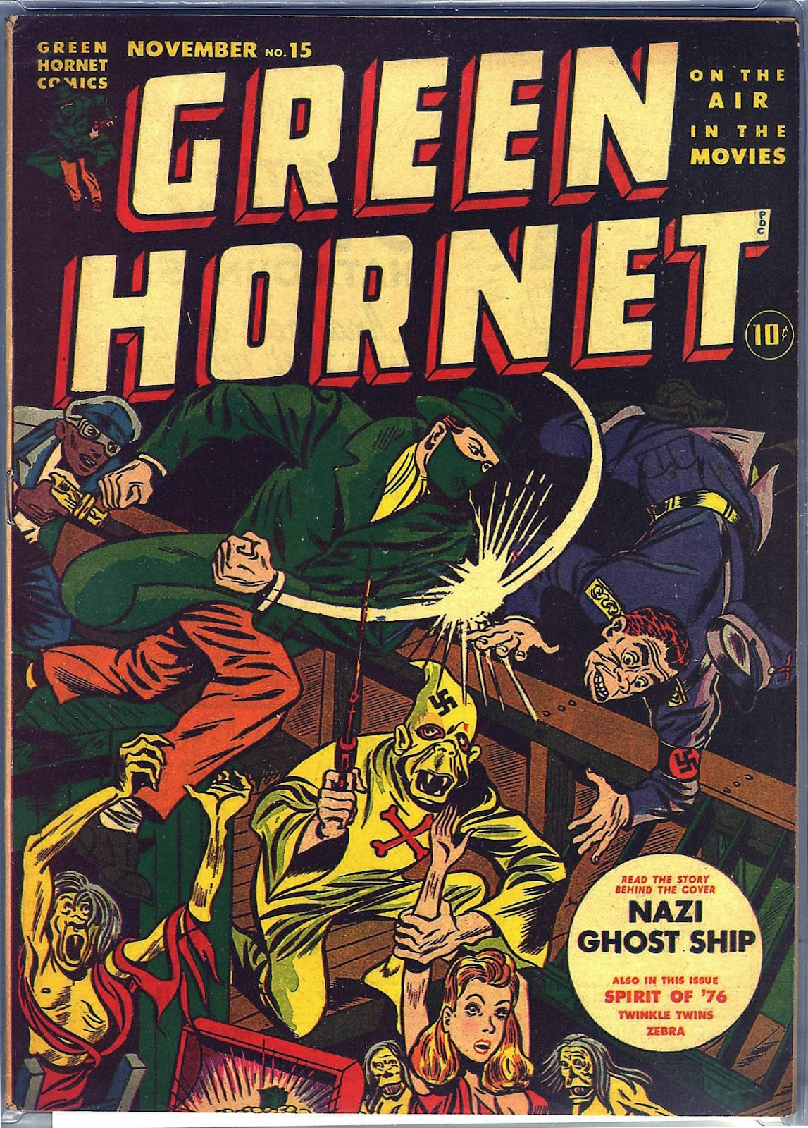 Green Hornet Comics issue 15 - Page 1
