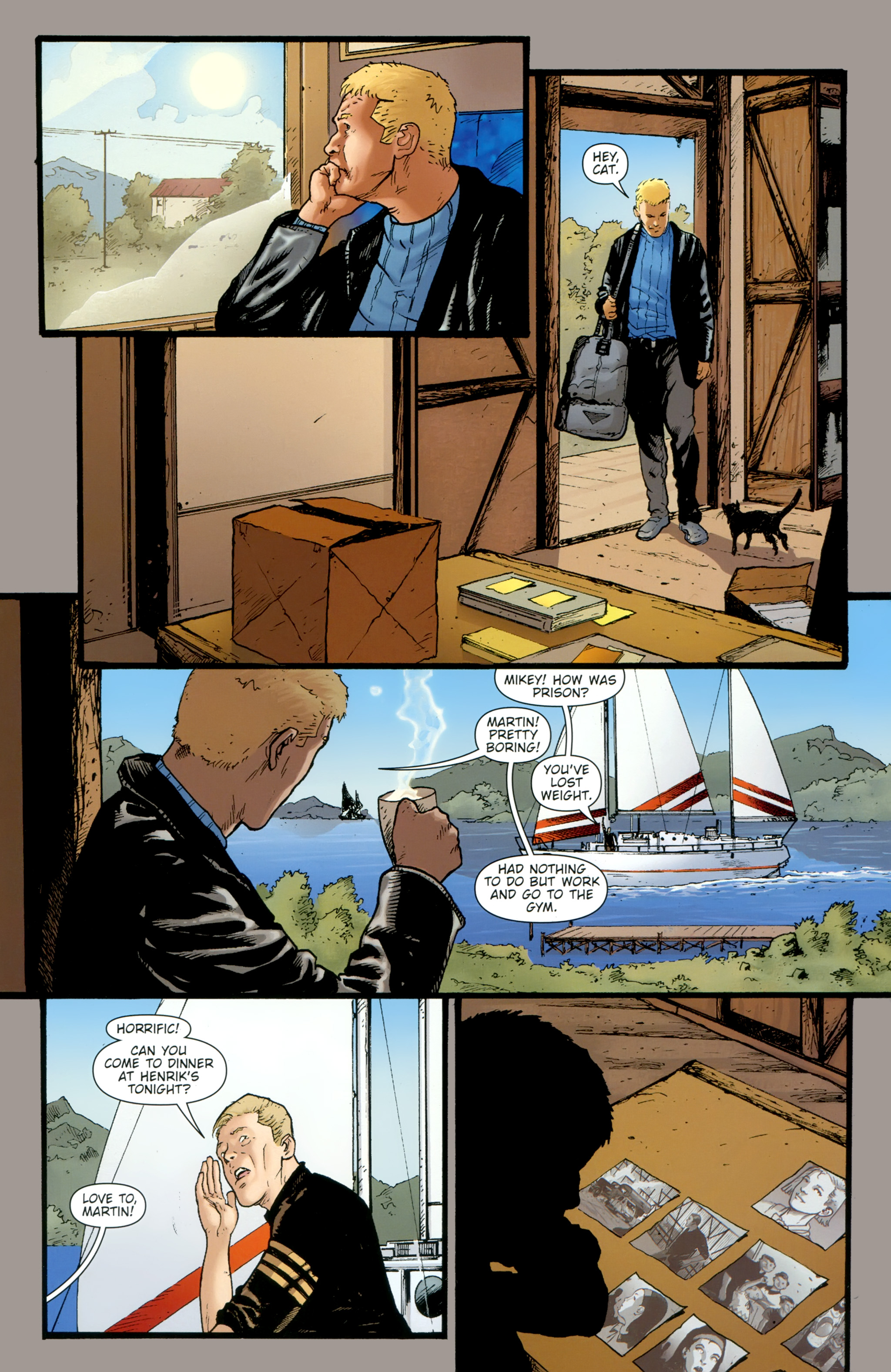 Read online The Girl With the Dragon Tattoo comic -  Issue # TPB 2 - 14