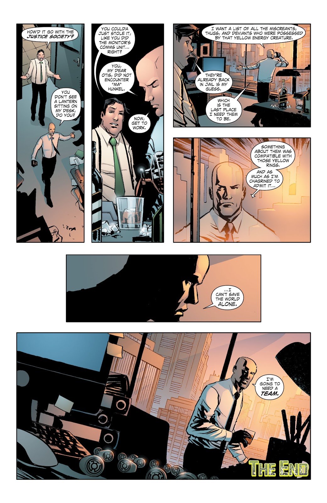 Read online Smallville Season 11 [II] comic -  Issue # TPB 7 - 131