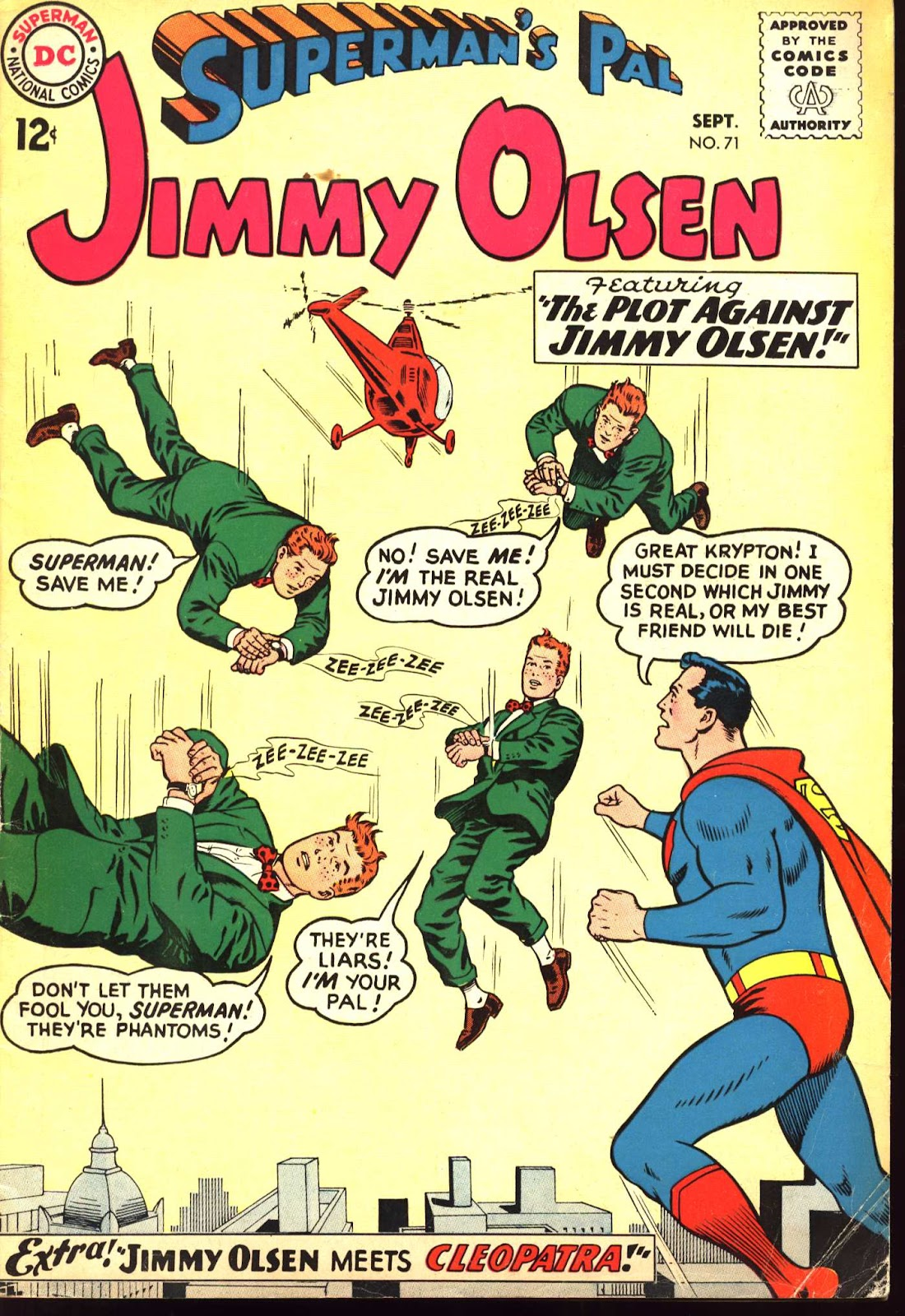 Supermans Pal Jimmy Olsen (1954) 71 Page 1