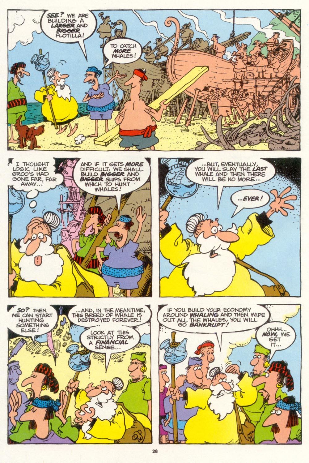 Read online Sergio Aragonés Groo the Wanderer comic -  Issue #103 - 30