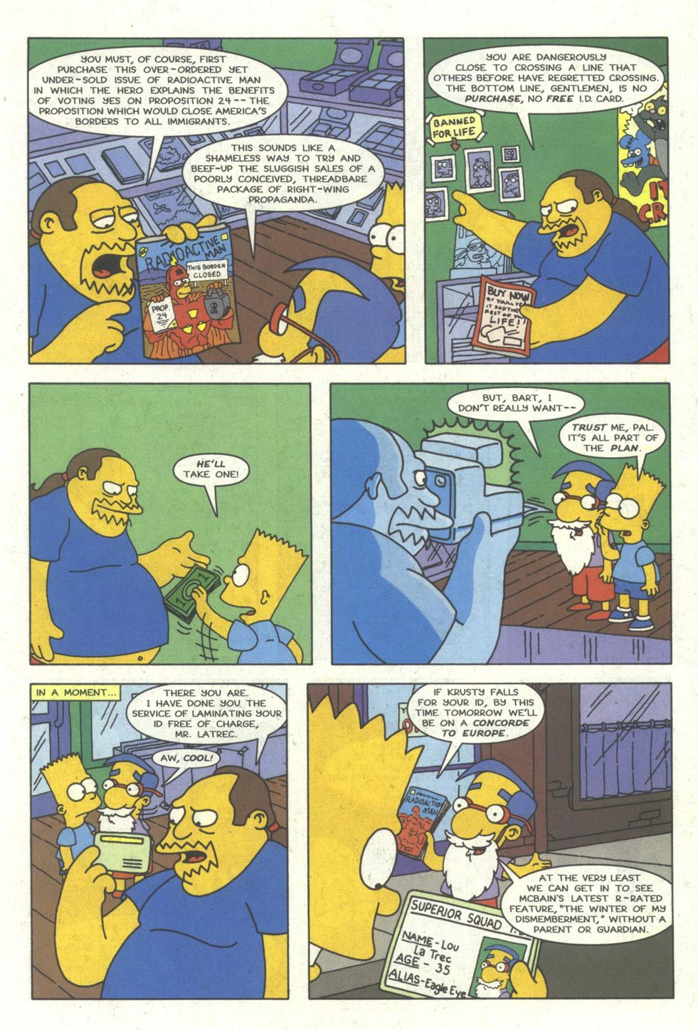 Read online Simpsons Comics comic -  Issue #23 - 6