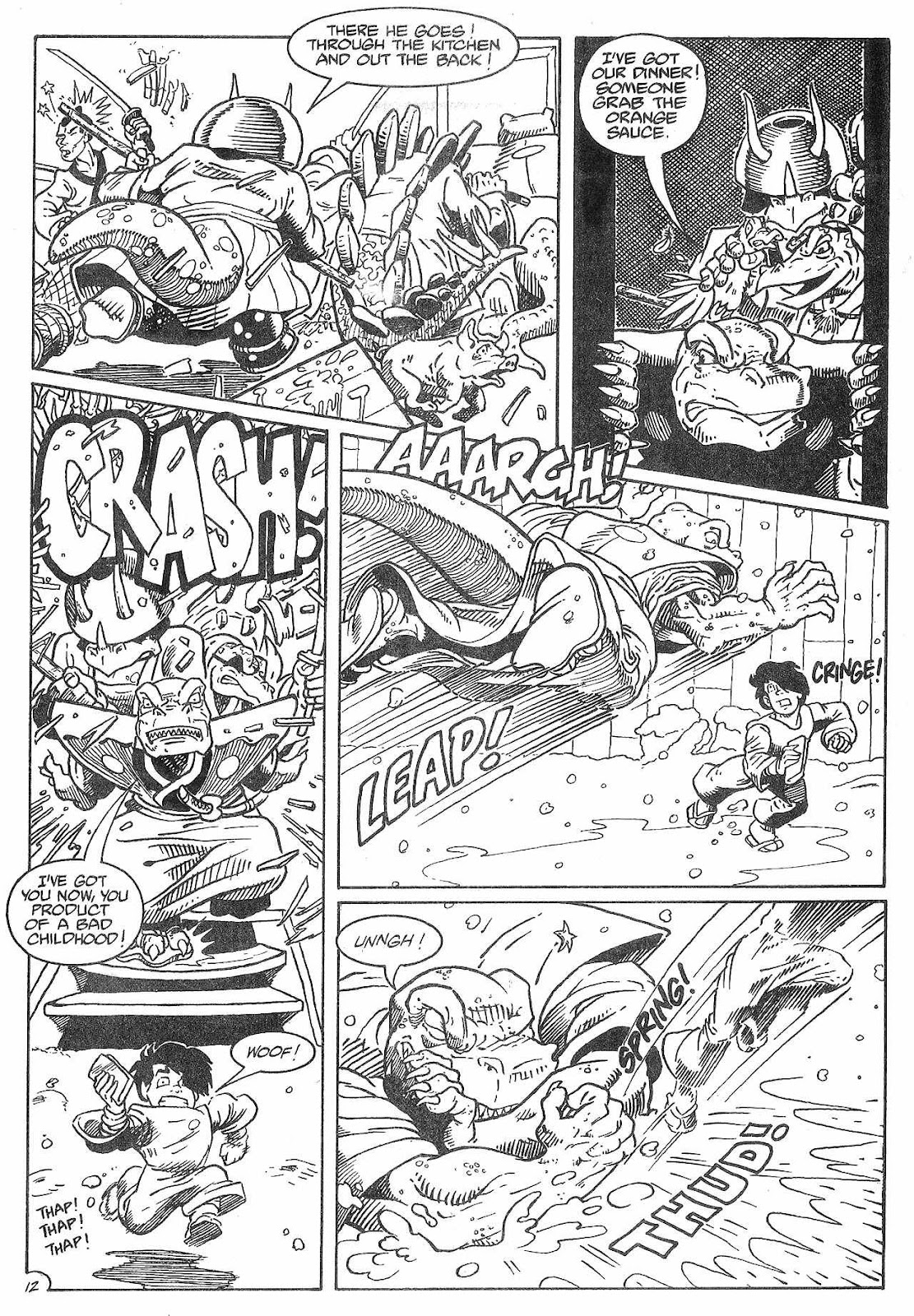 Dinosaurs For Hire (1988) issue 8 - Page 14