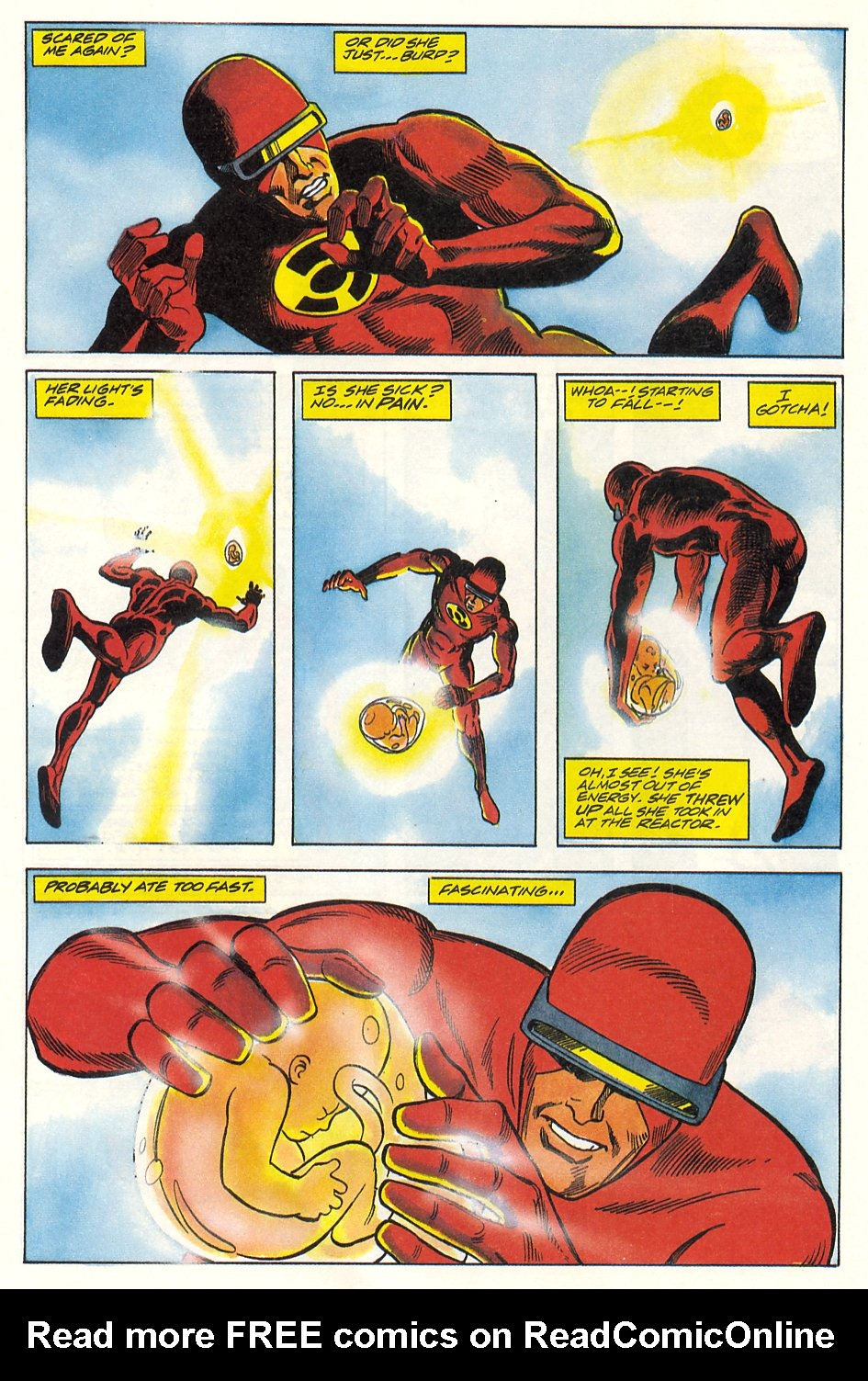 Read online Solar, Man of the Atom comic -  Issue #9 - 14