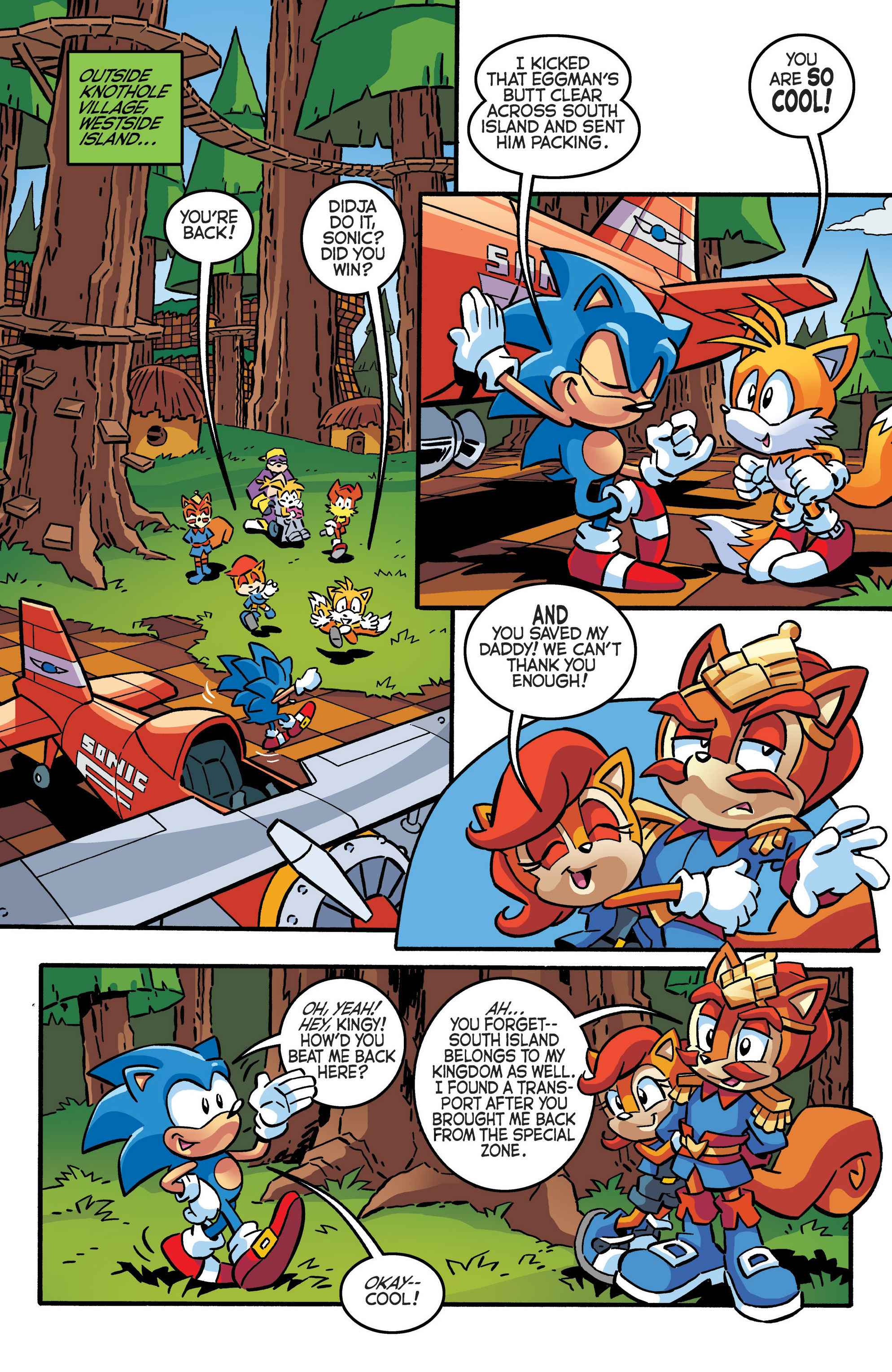 Read online Sonic The Hedgehog comic -  Issue #288 - 17