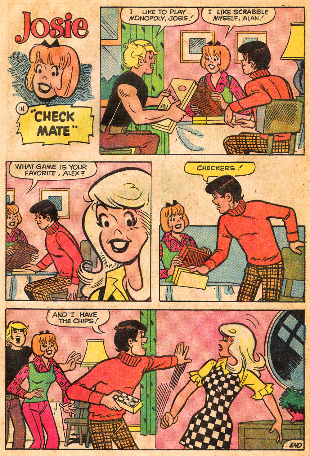 Read online She's Josie comic -  Issue #73 - 32