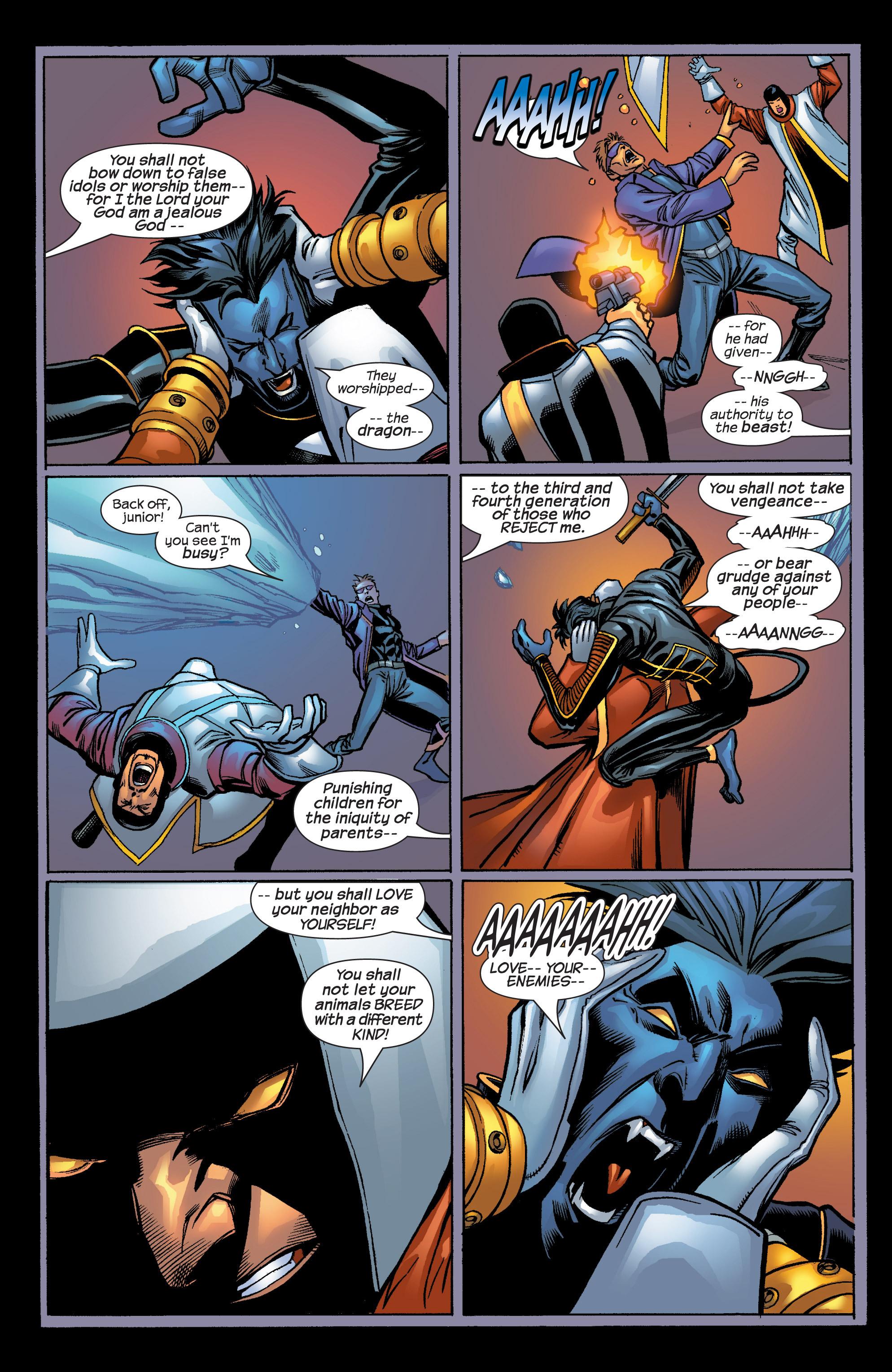 Read online Uncanny X-Men (1963) comic -  Issue #424 - 22