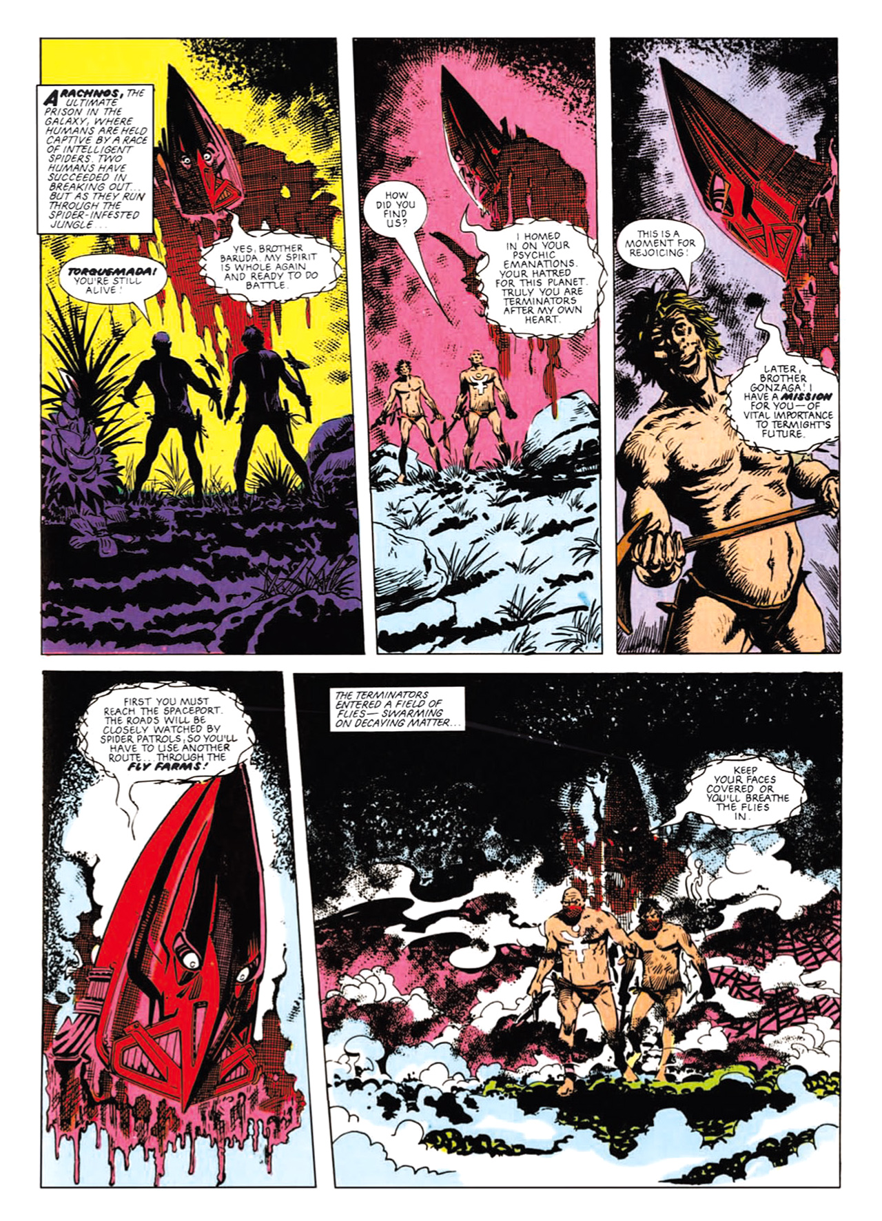 Read online Nemesis The Warlock comic -  Issue # TPB Deviant Edition - 128