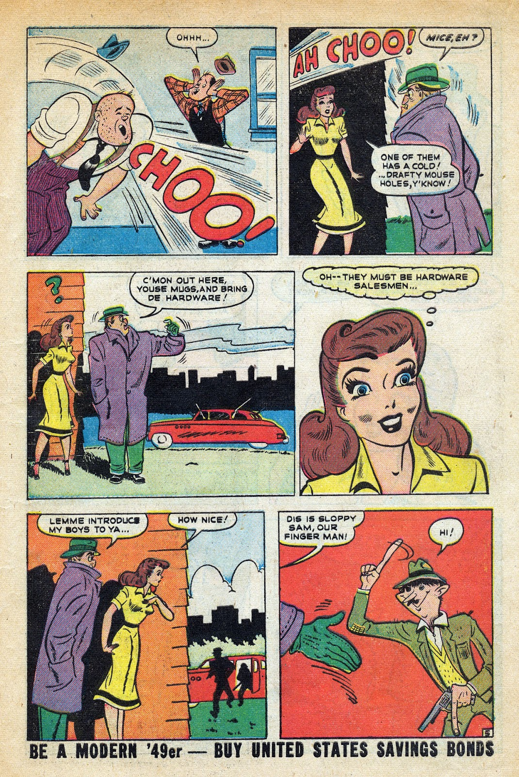 Read online Nellie The Nurse (1945) comic -  Issue #20 - 7