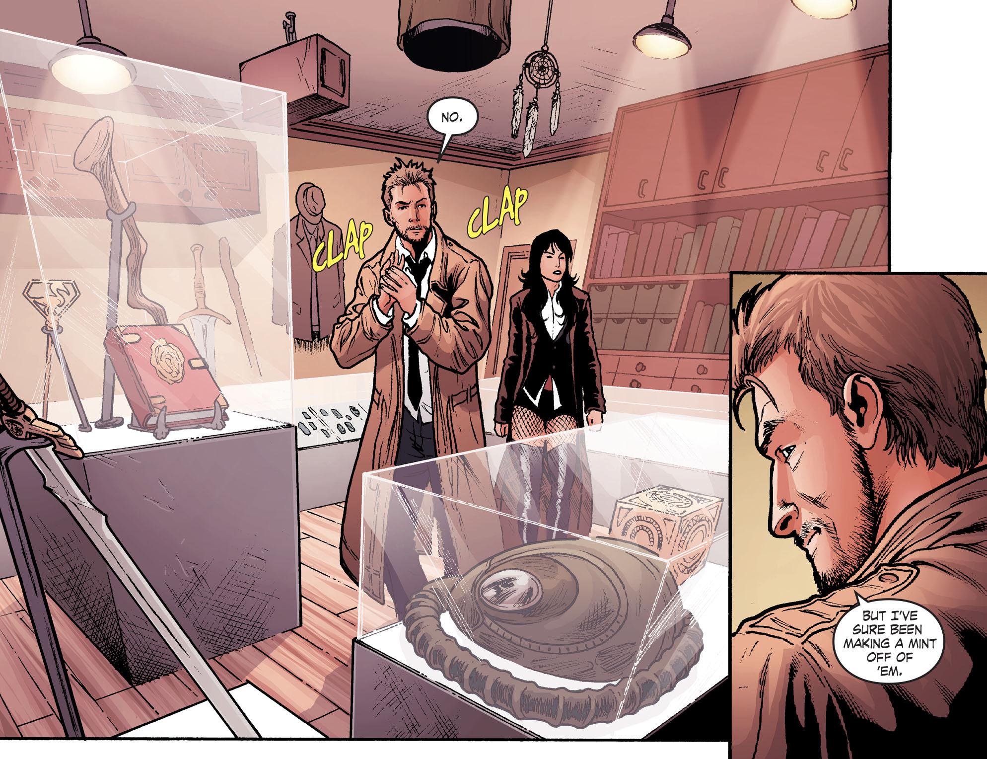 Read online Smallville: Harbinger comic -  Issue #2 - 12