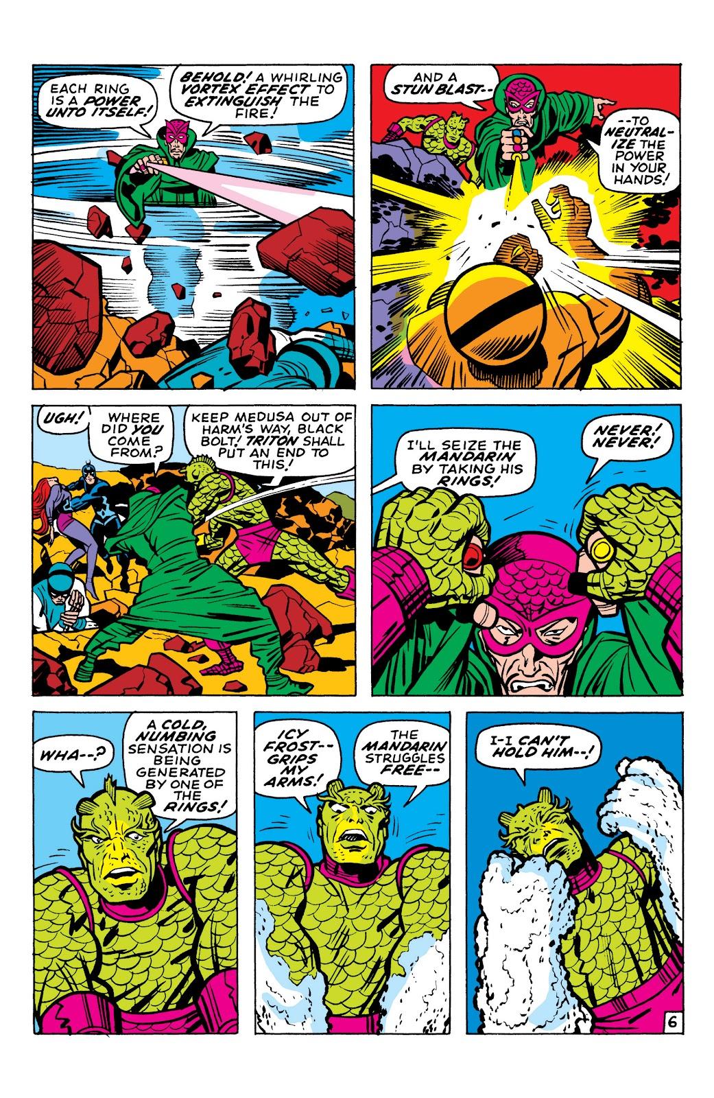 Read online Marvel Masterworks: The Inhumans comic -  Issue # TPB 1 (Part 1) - 97