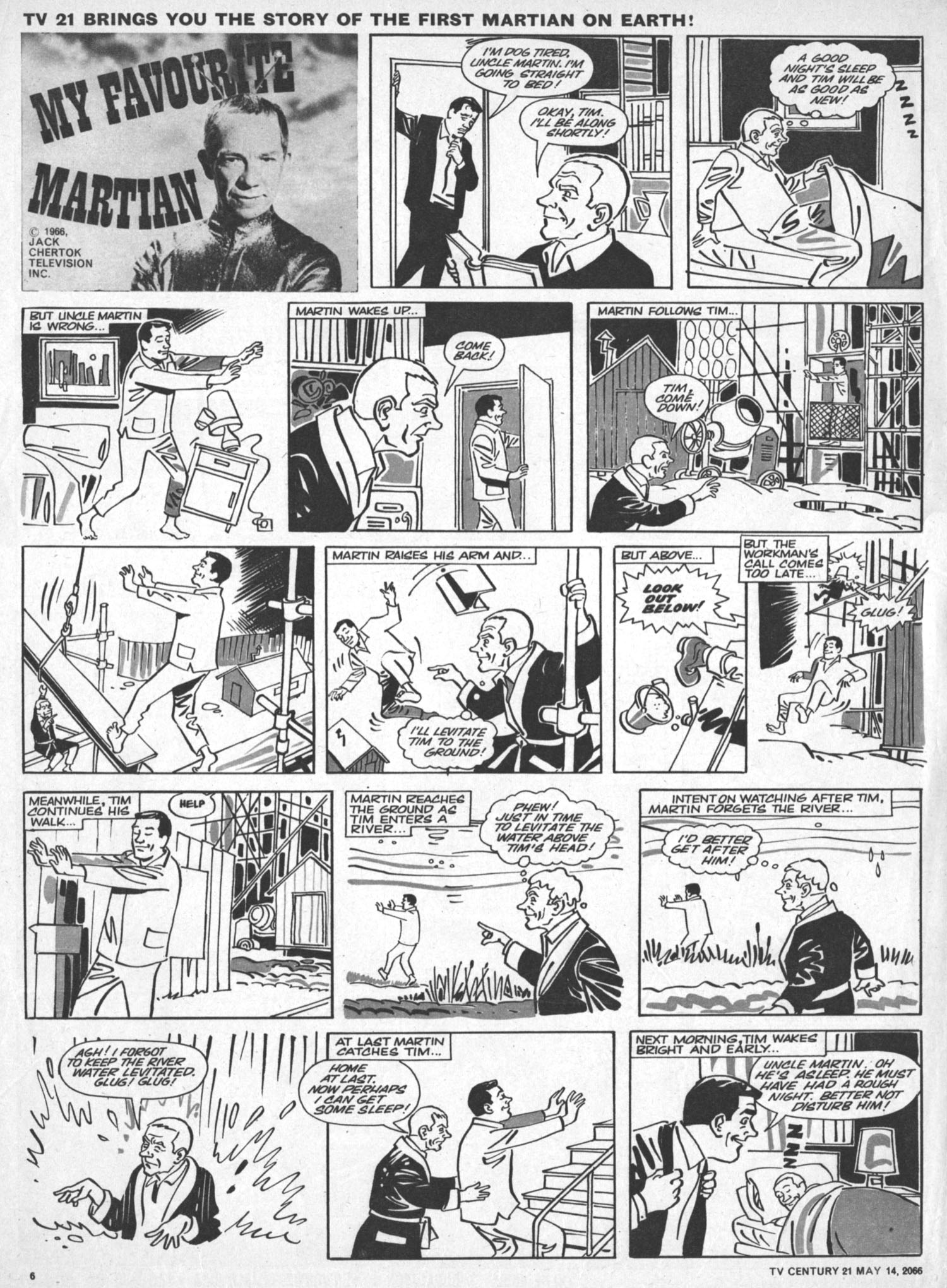 Read online TV Century 21 (TV 21) comic -  Issue #69 - 6