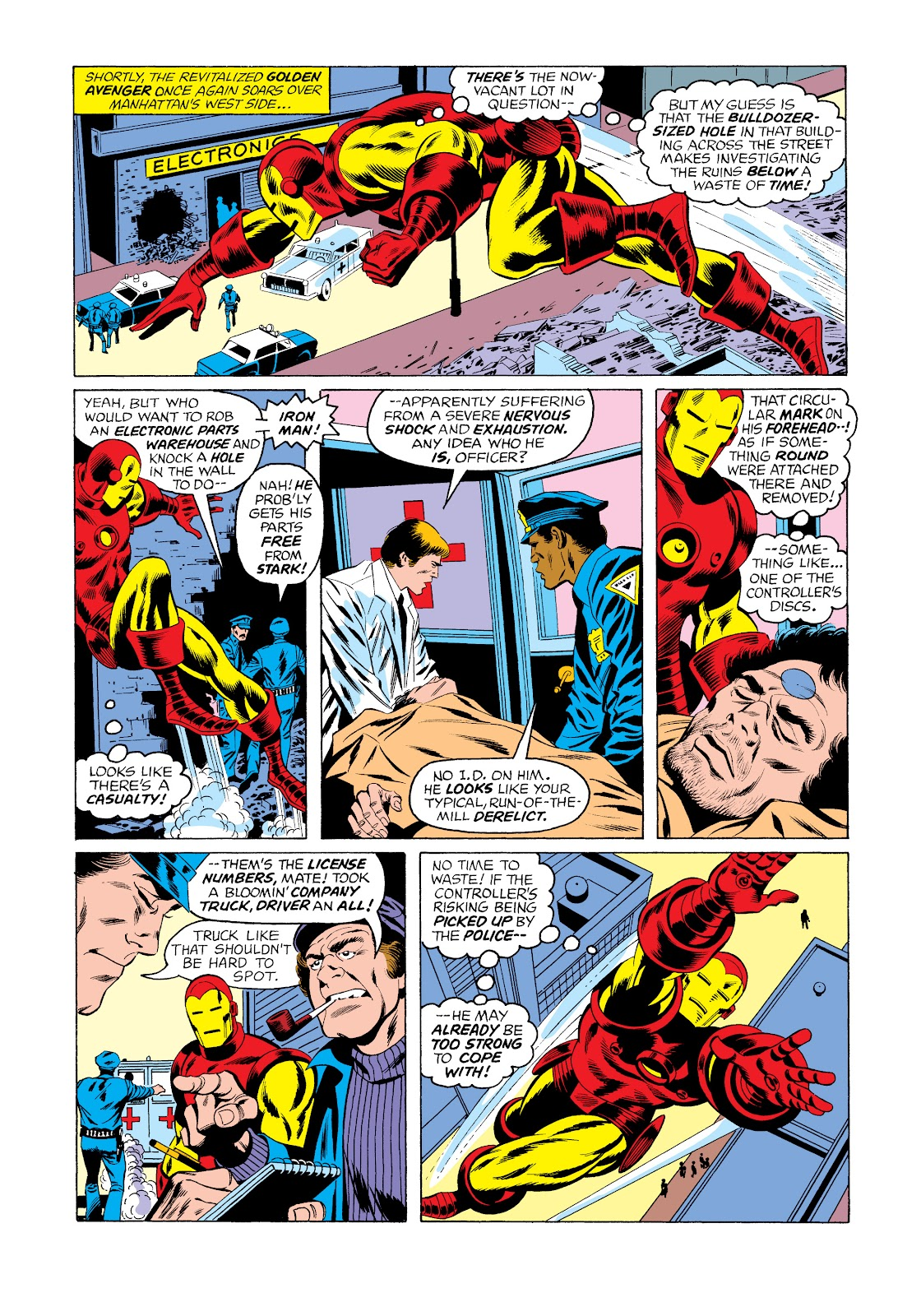 Read online Marvel Masterworks: The Invincible Iron Man comic -  Issue # TPB 11 (Part 3) - 4