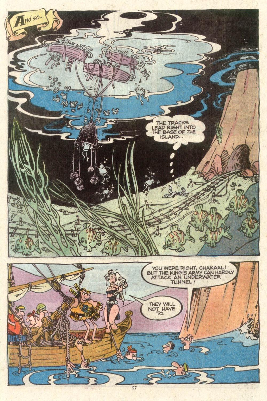 Read online Sergio Aragonés Groo the Wanderer comic -  Issue #50 - 27