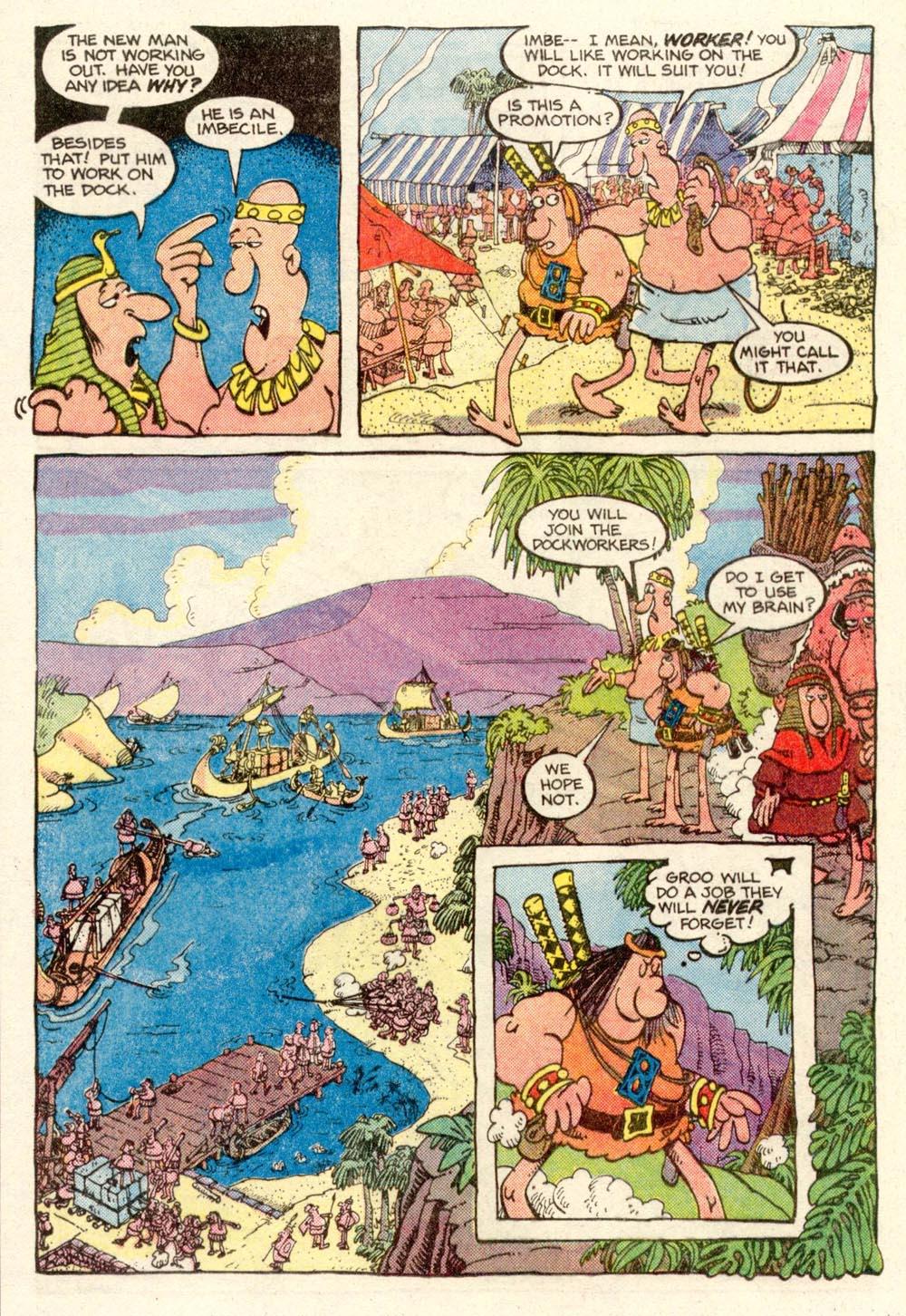 Read online Sergio Aragonés Groo the Wanderer comic -  Issue #14 - 10