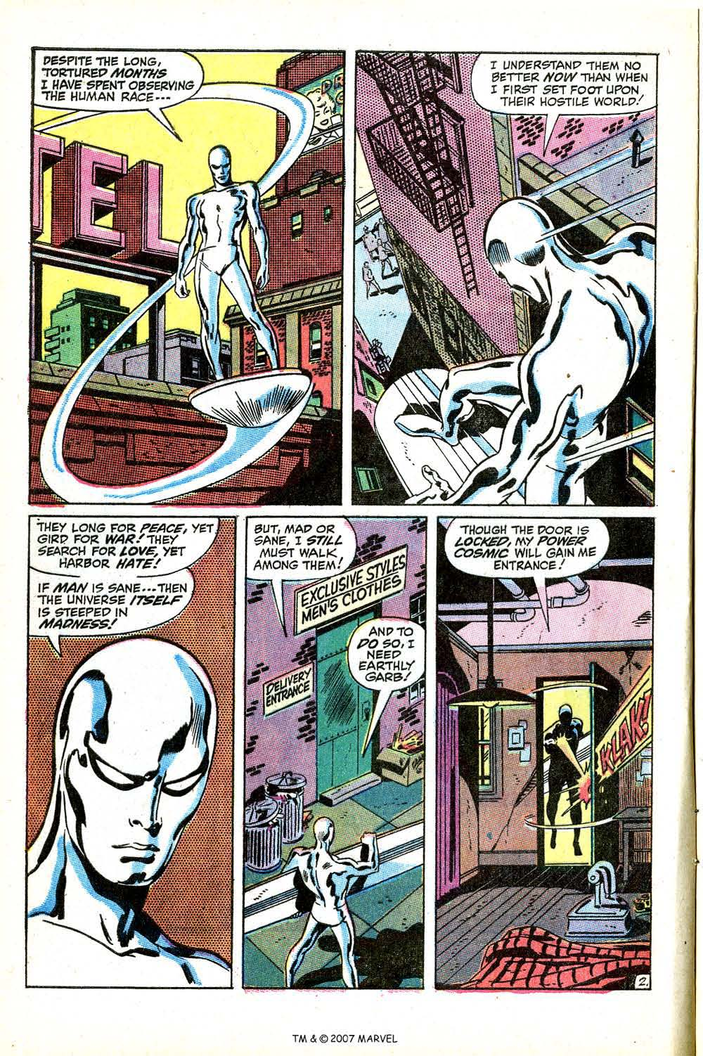 Read online Silver Surfer (1968) comic -  Issue #15 - 4