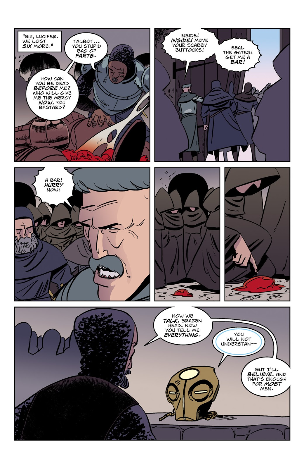 Read online Dark Ages comic -  Issue #3 - 15