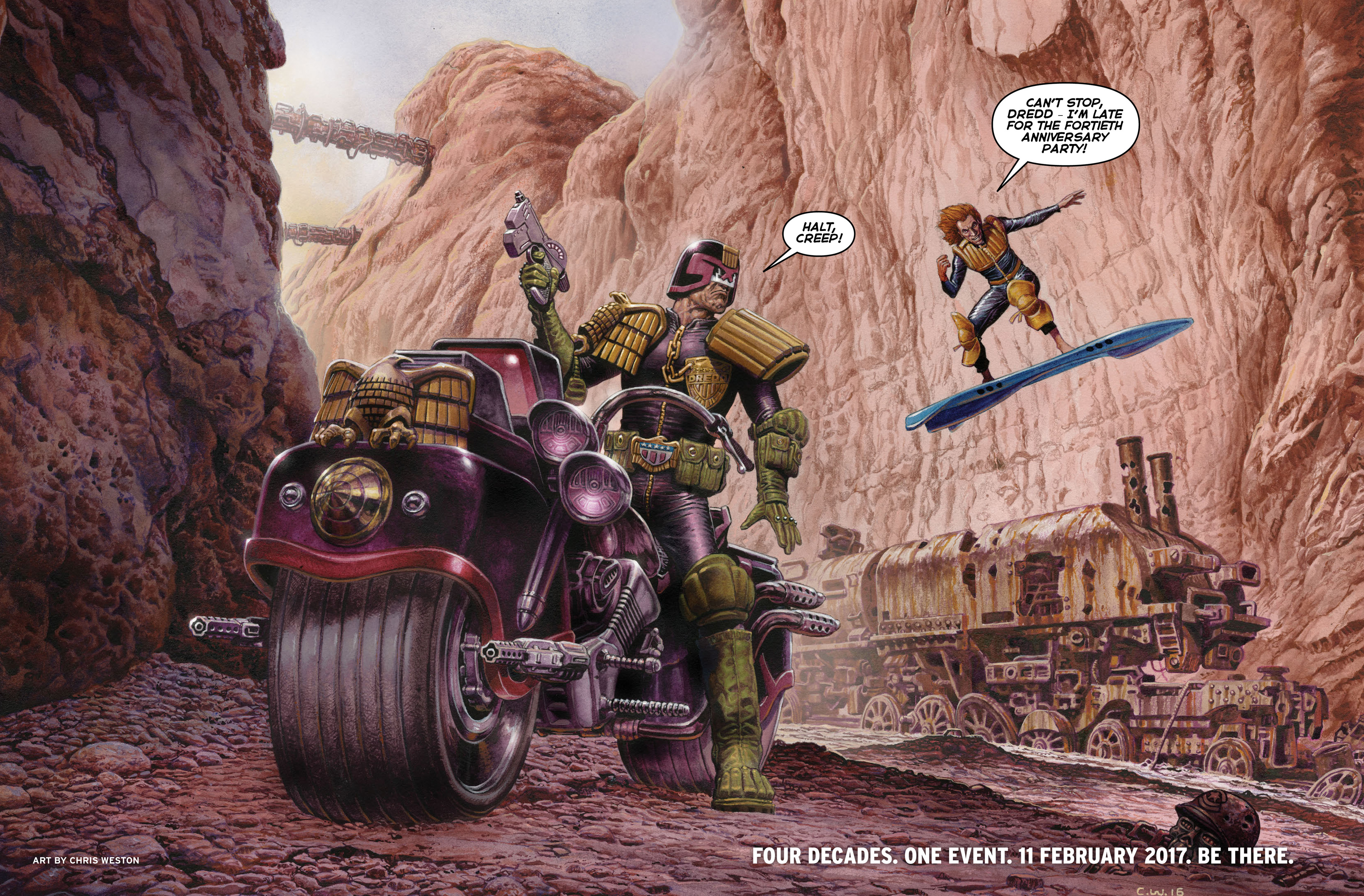 Read online 2000 AD comic -  Issue #2011 - 84