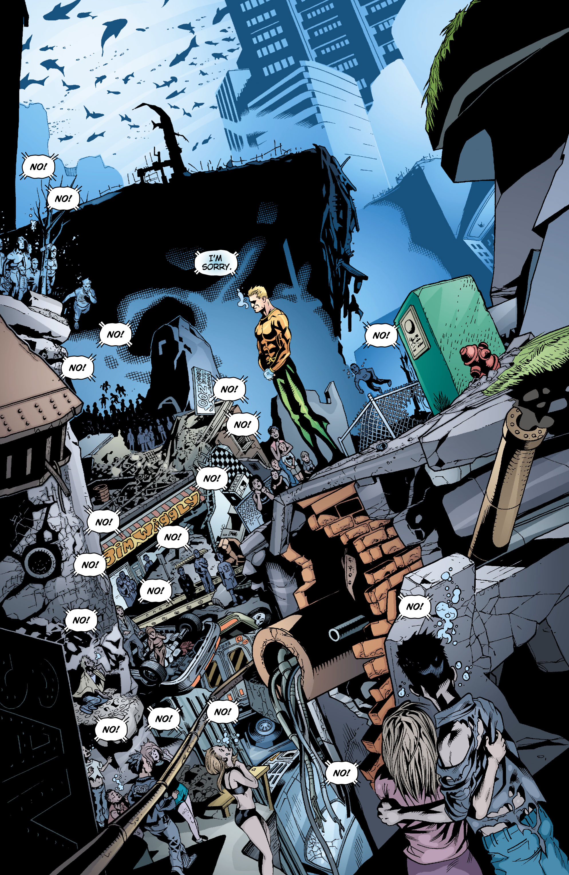 Read online Aquaman (2003) comic -  Issue #17 - 11