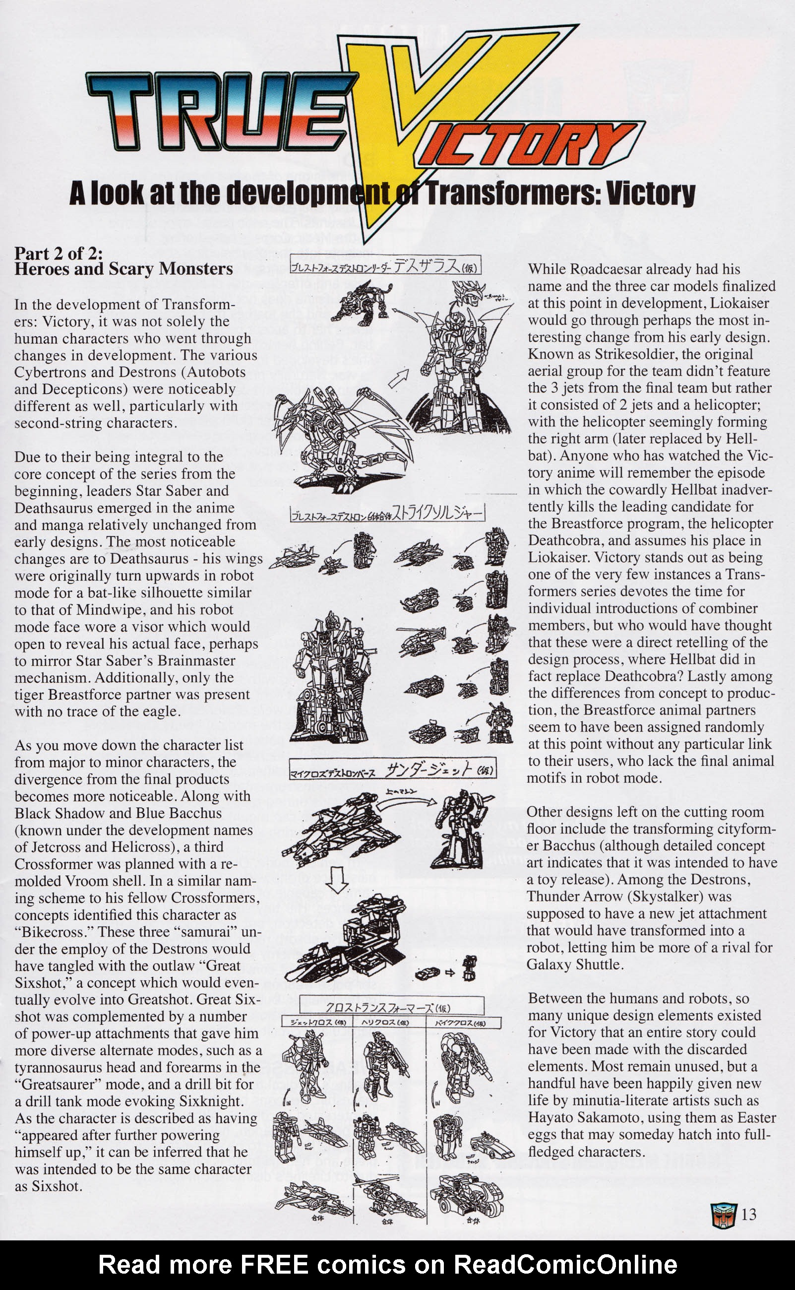 Read online Transformers: Collectors' Club comic -  Issue #68 - 13