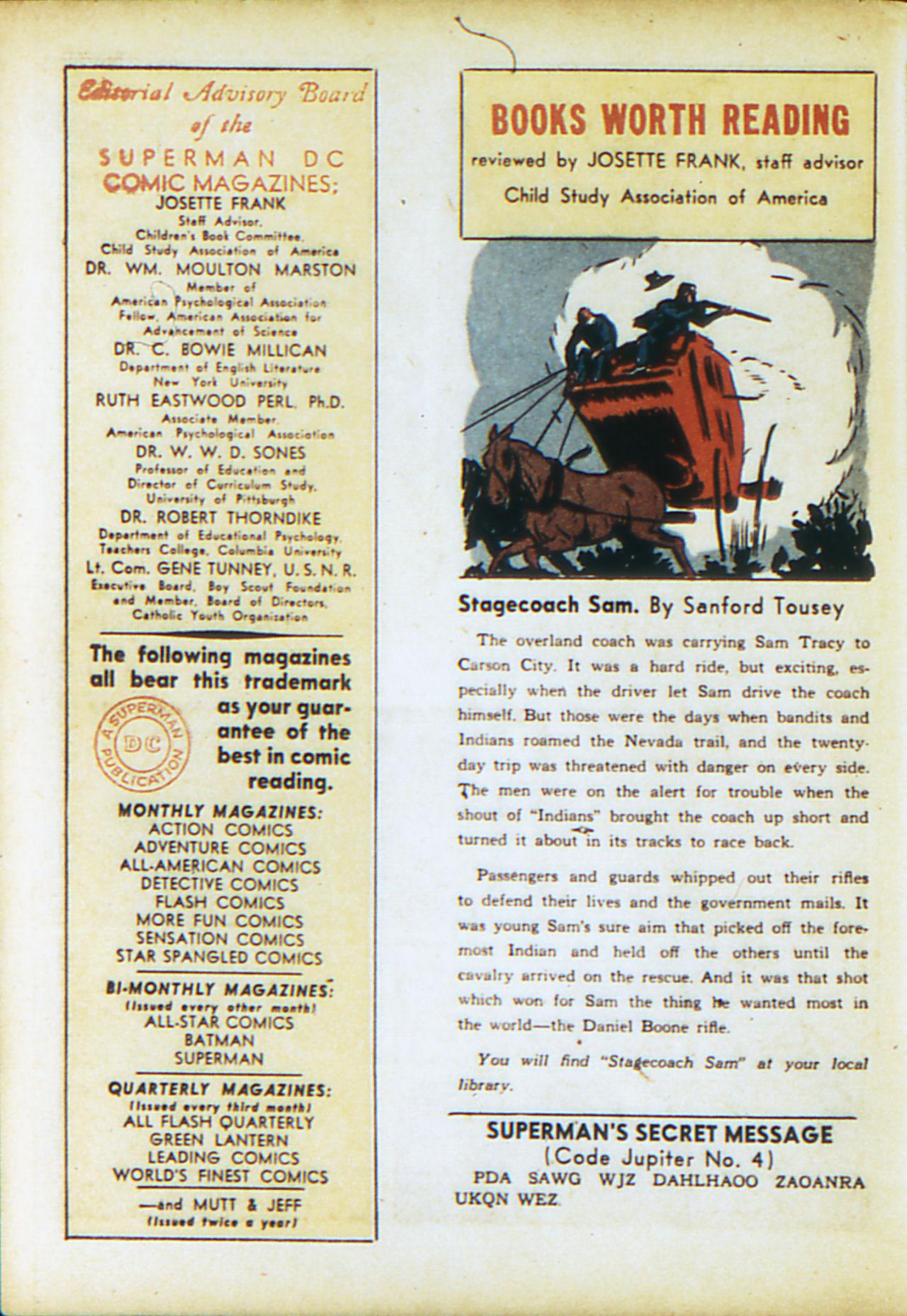 Read online Adventure Comics (1938) comic -  Issue #71 - 57