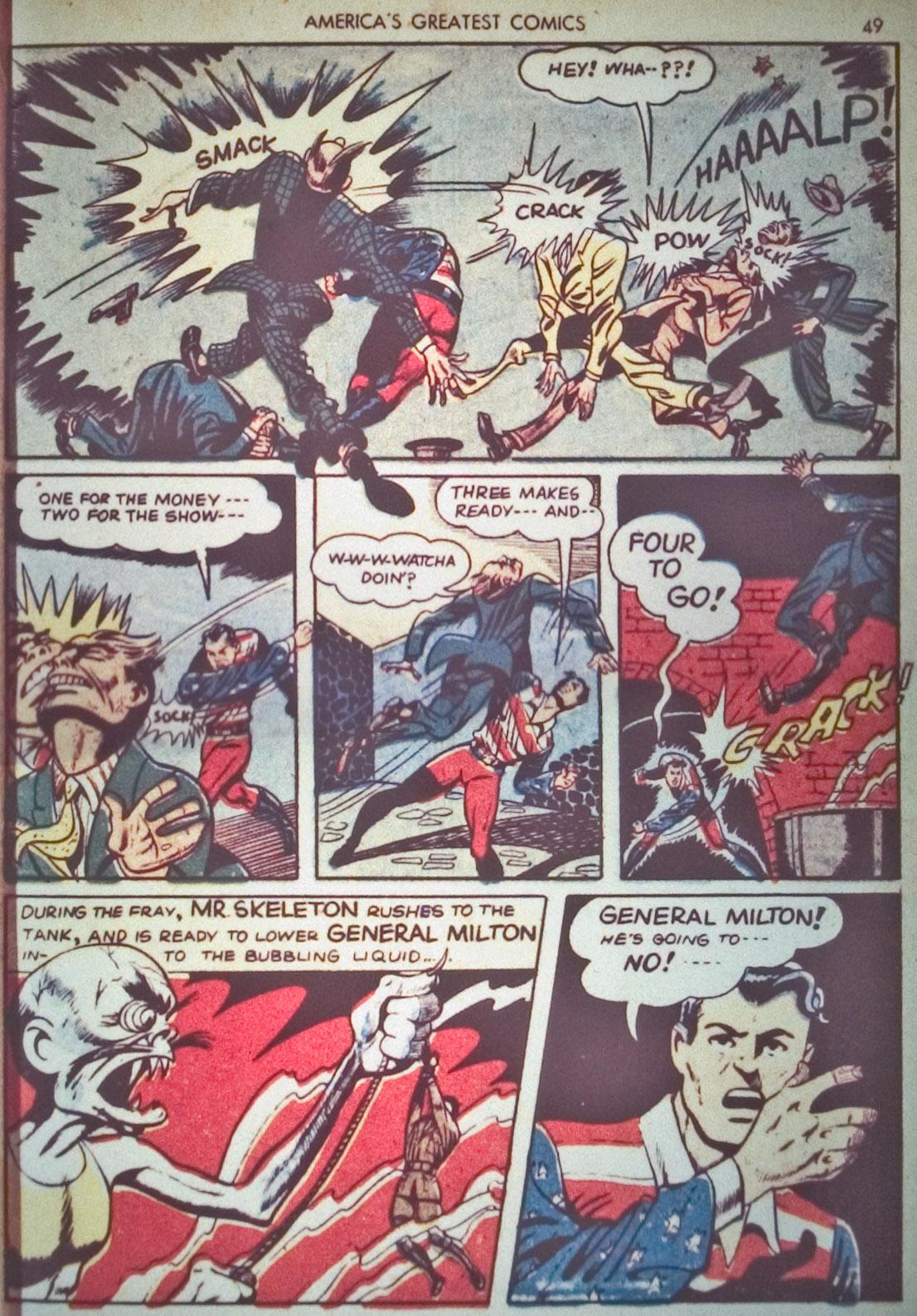 Read online America's Greatest Comics comic -  Issue #1 - 52
