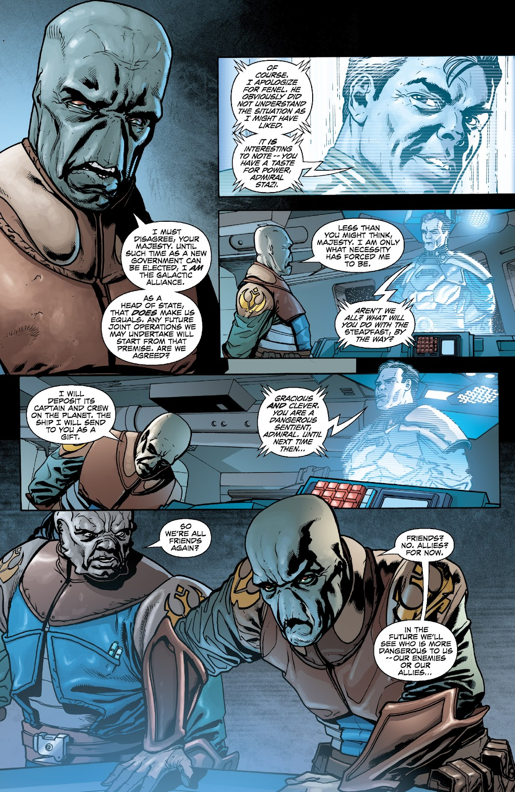 Read online Star Wars Legends: Legacy - Epic Collection comic -  Issue # TPB 2 (Part 5) - 11