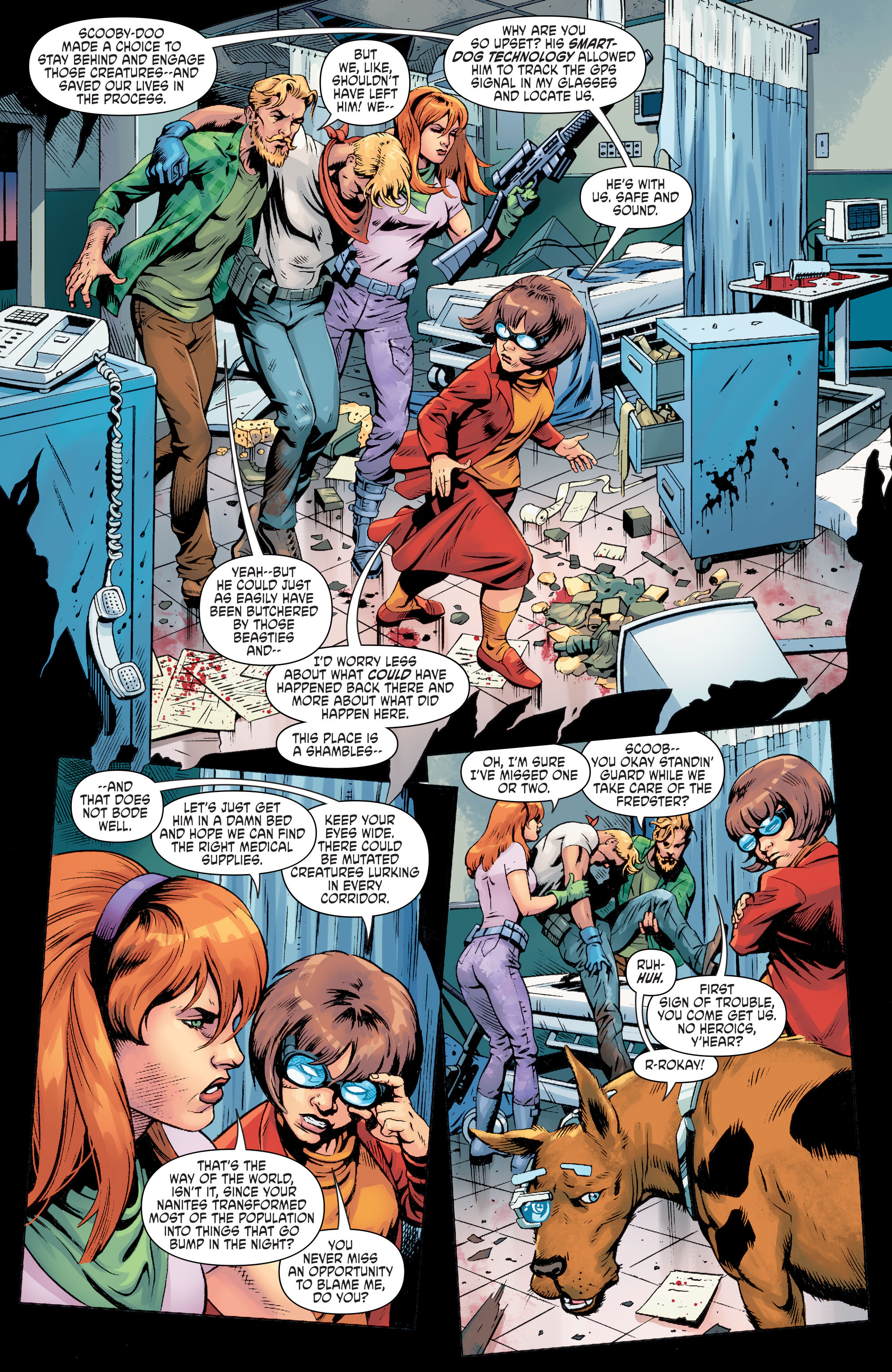 Read online Scooby Apocalypse comic -  Issue #8 - 5