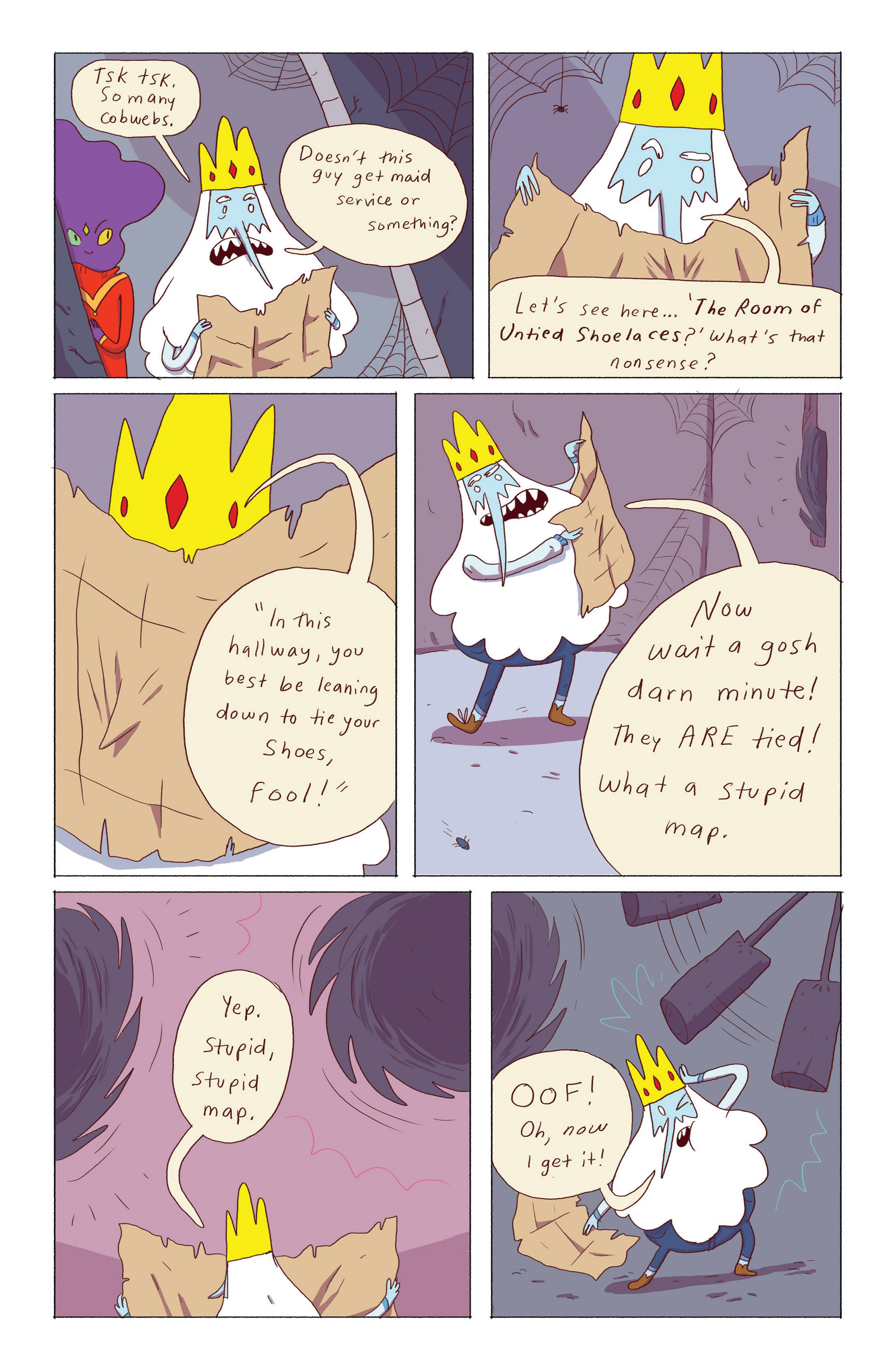 Read online Adventure Time: Ice King comic -  Issue #5 - 8