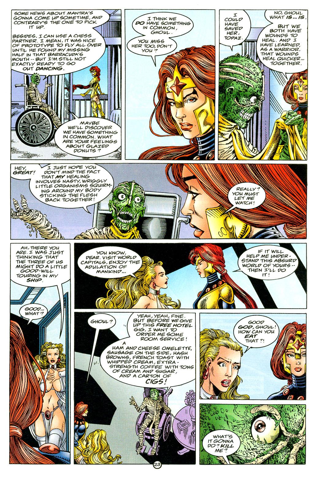 Read online UltraForce (1994) comic -  Issue #6 - 23